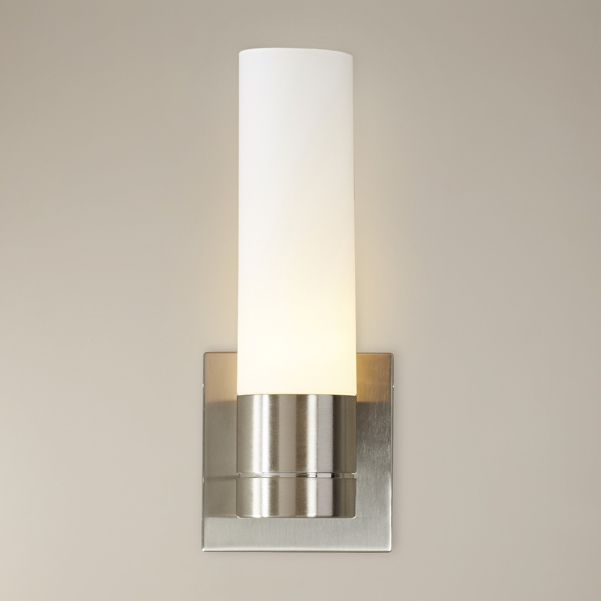 Wall Sconces At Wayfair : Wade Logan Henfield 1 Light Tube Wall Sconce & Reviews Wayfair