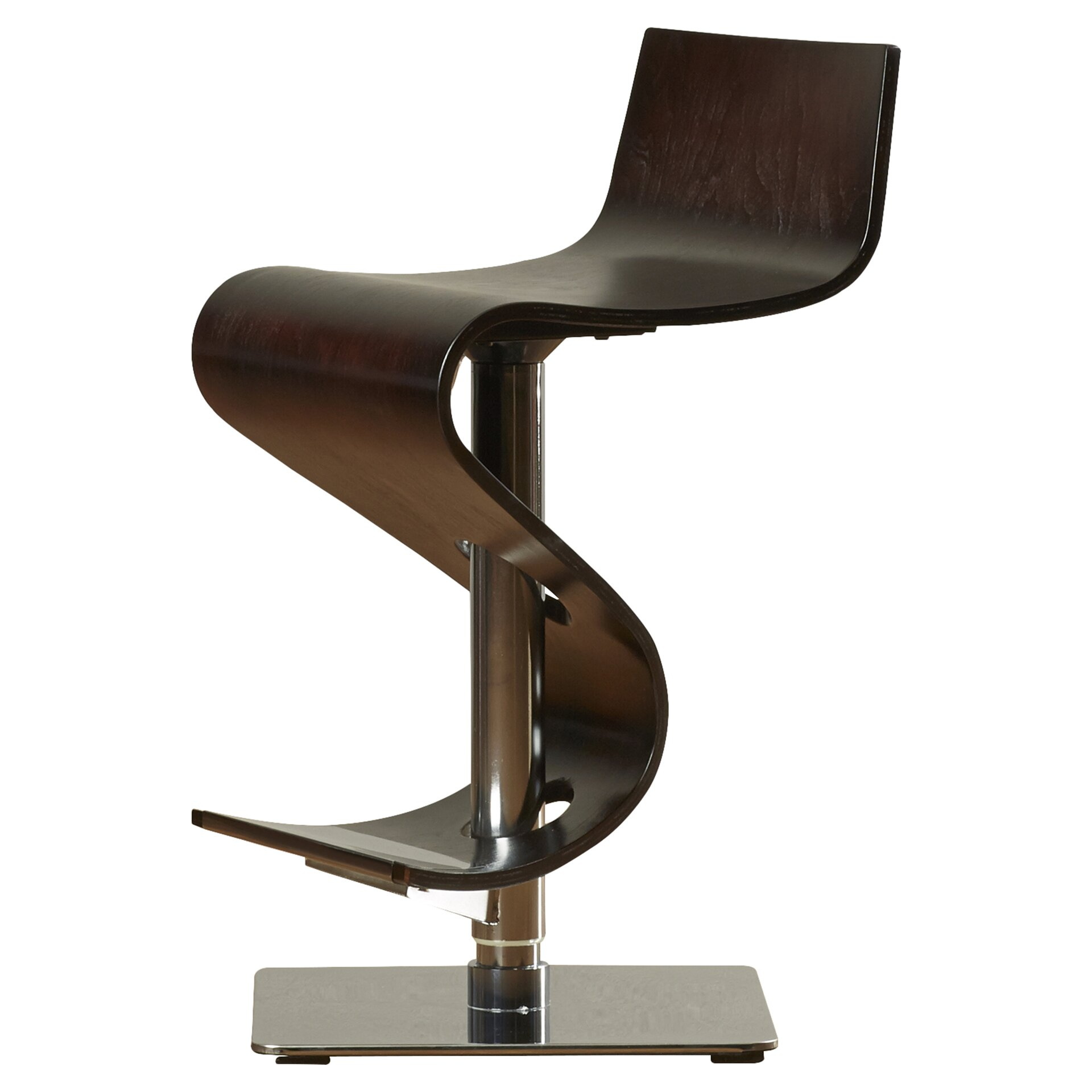 Wade Logan The Adjustable Height Swivel Bar Stool
