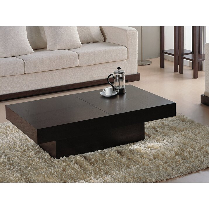 Wade logan benitez storage coffee table reviews wayfair for Wayfair coffee tables with storage