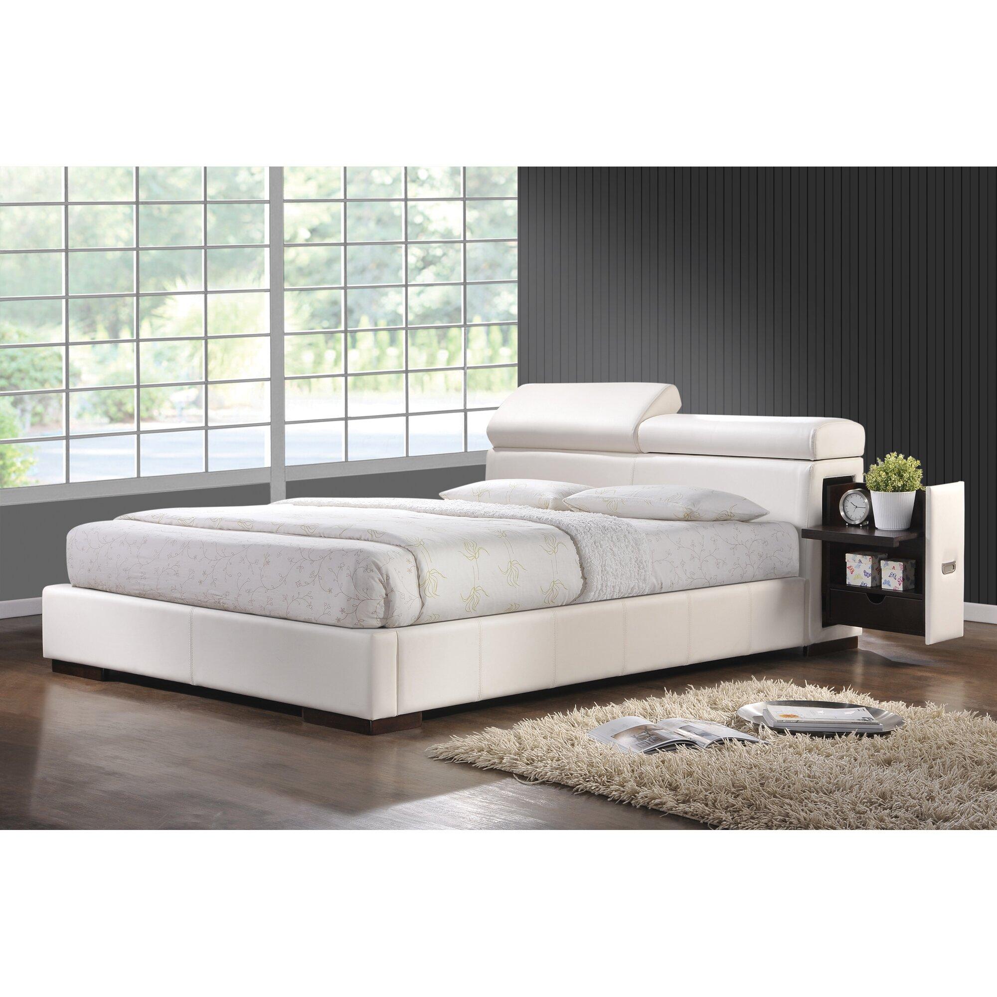 Wade Logan Upholstered Storage Platform Bed Reviews