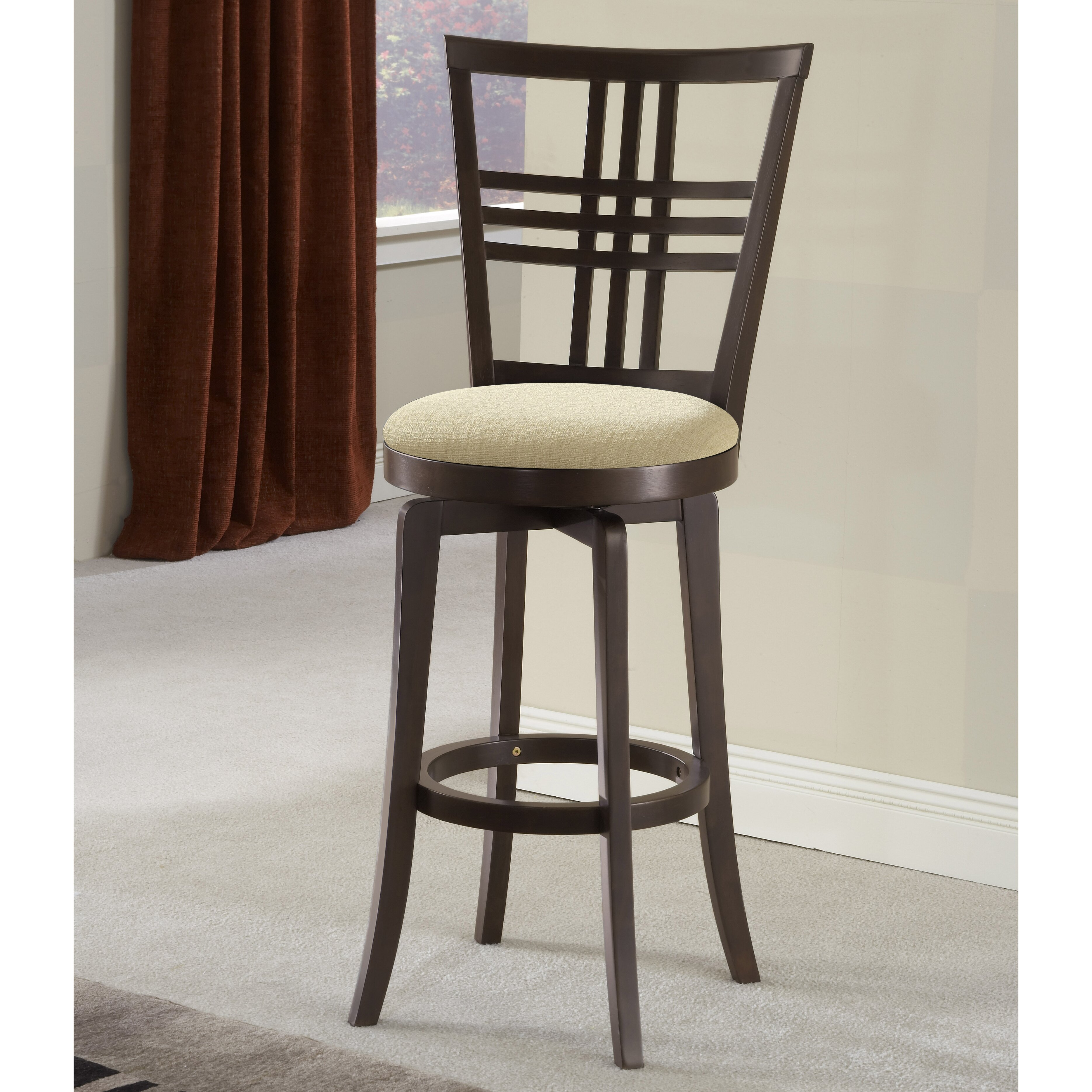 red barrel studio appalachian 30 swivel bar stool reviews wayfair. Black Bedroom Furniture Sets. Home Design Ideas