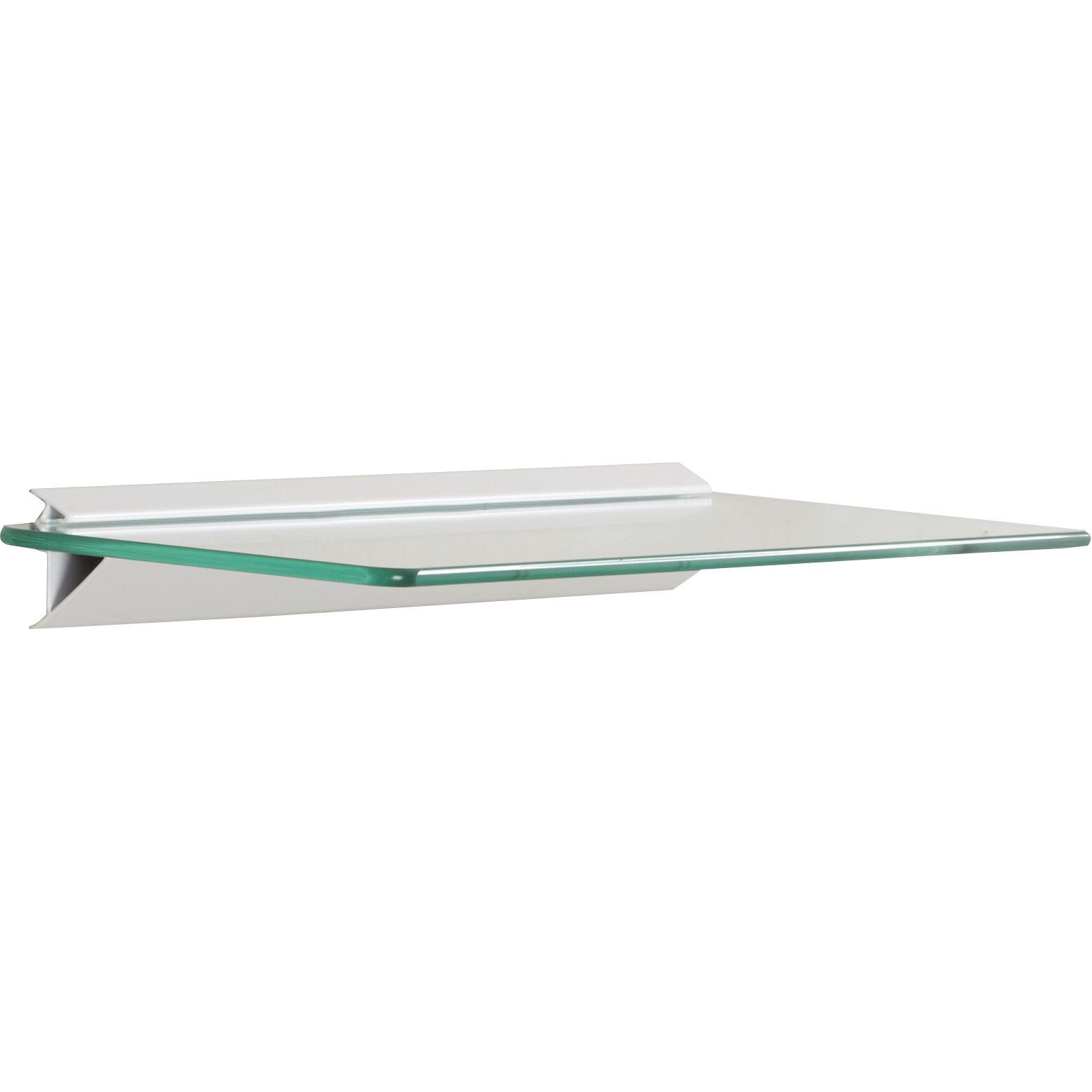 Wade Logan Glass Floating shelf amp Reviews Wayfair : Glass Shelf Kits WADL4189 from www.wayfair.com size 1557 x 1557 jpeg 63kB