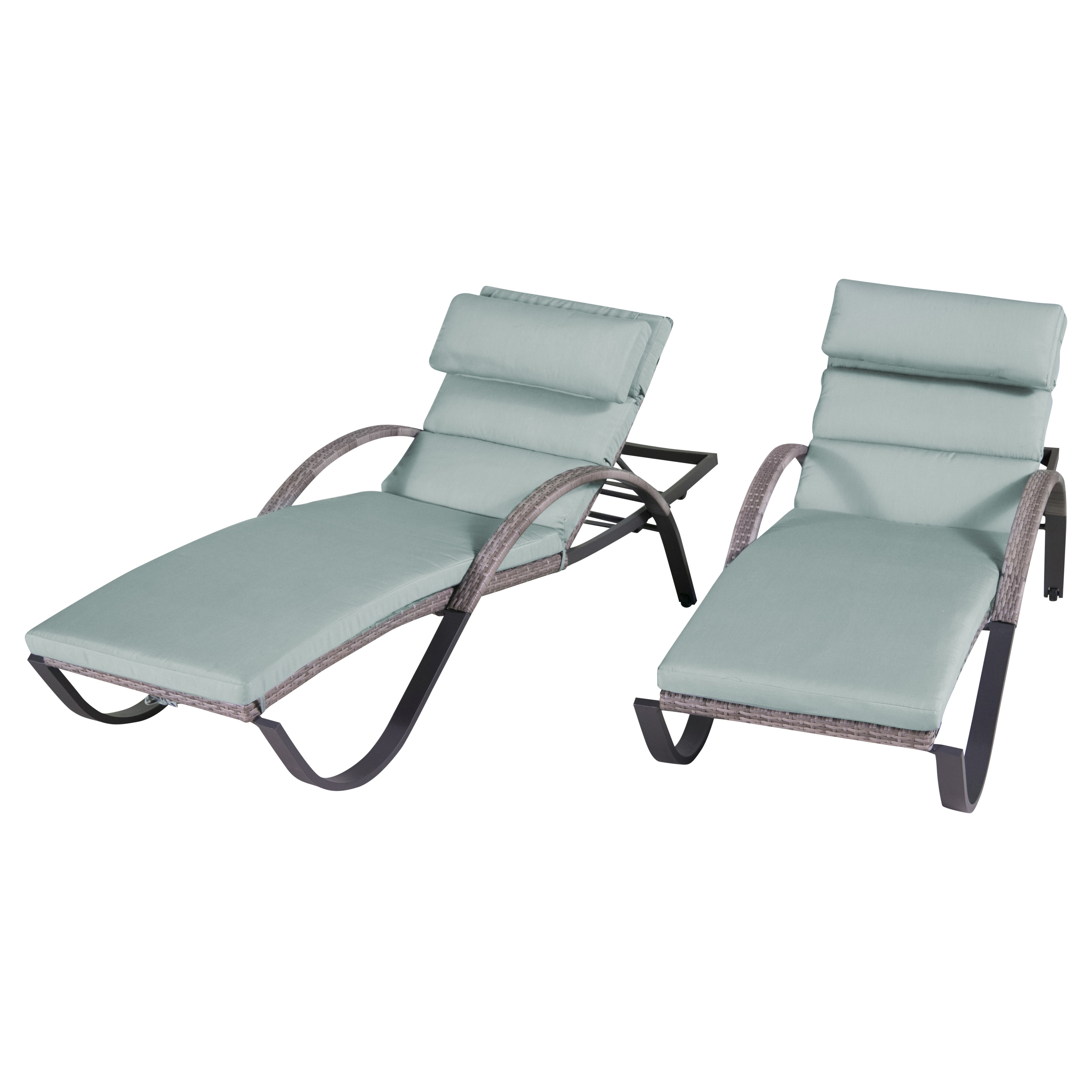 Wade logan alfonso chaise lounges with cushion reviews for Chaise lounge cushions