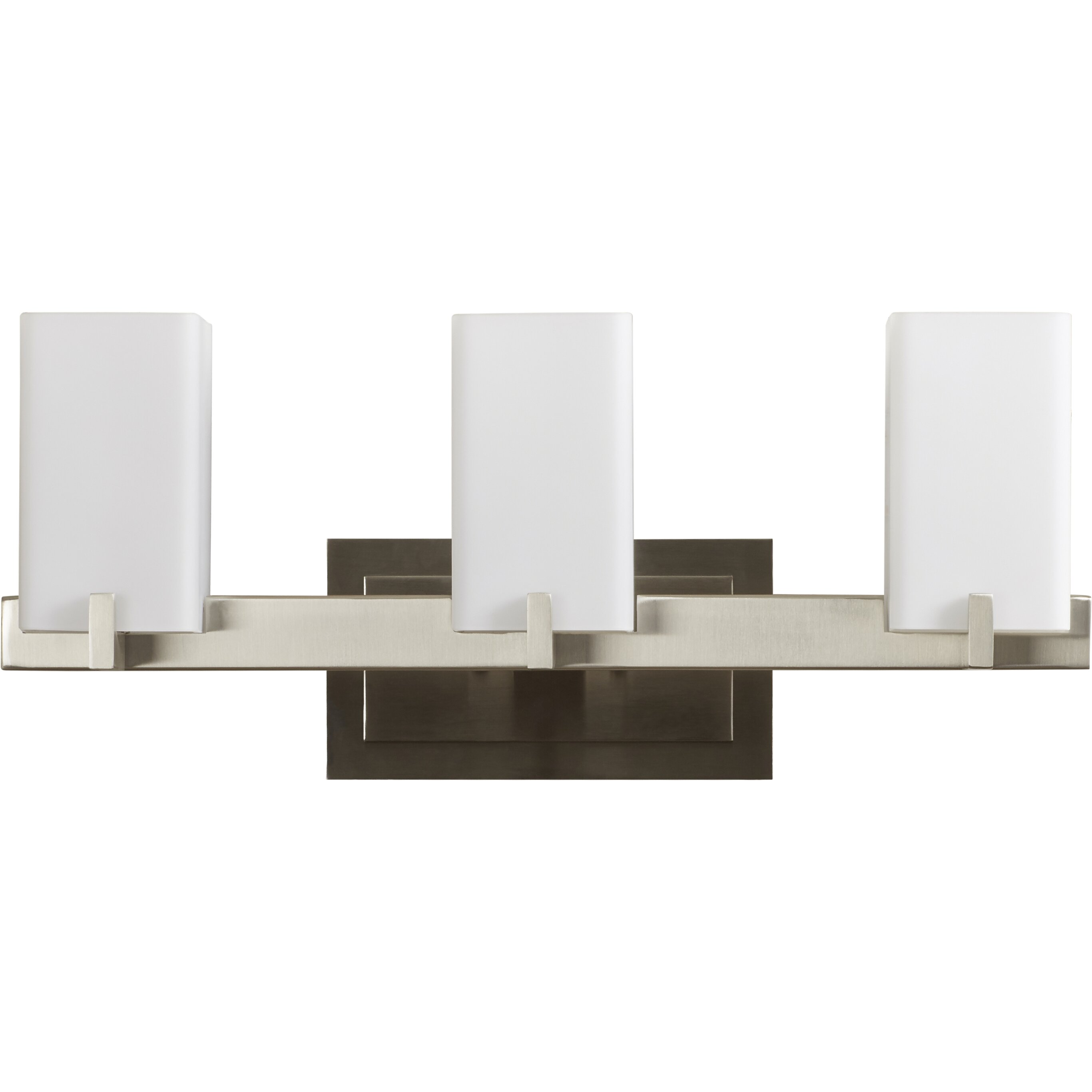 Wade Logan Redfield 3 Light Bath Vanity Light & Reviews