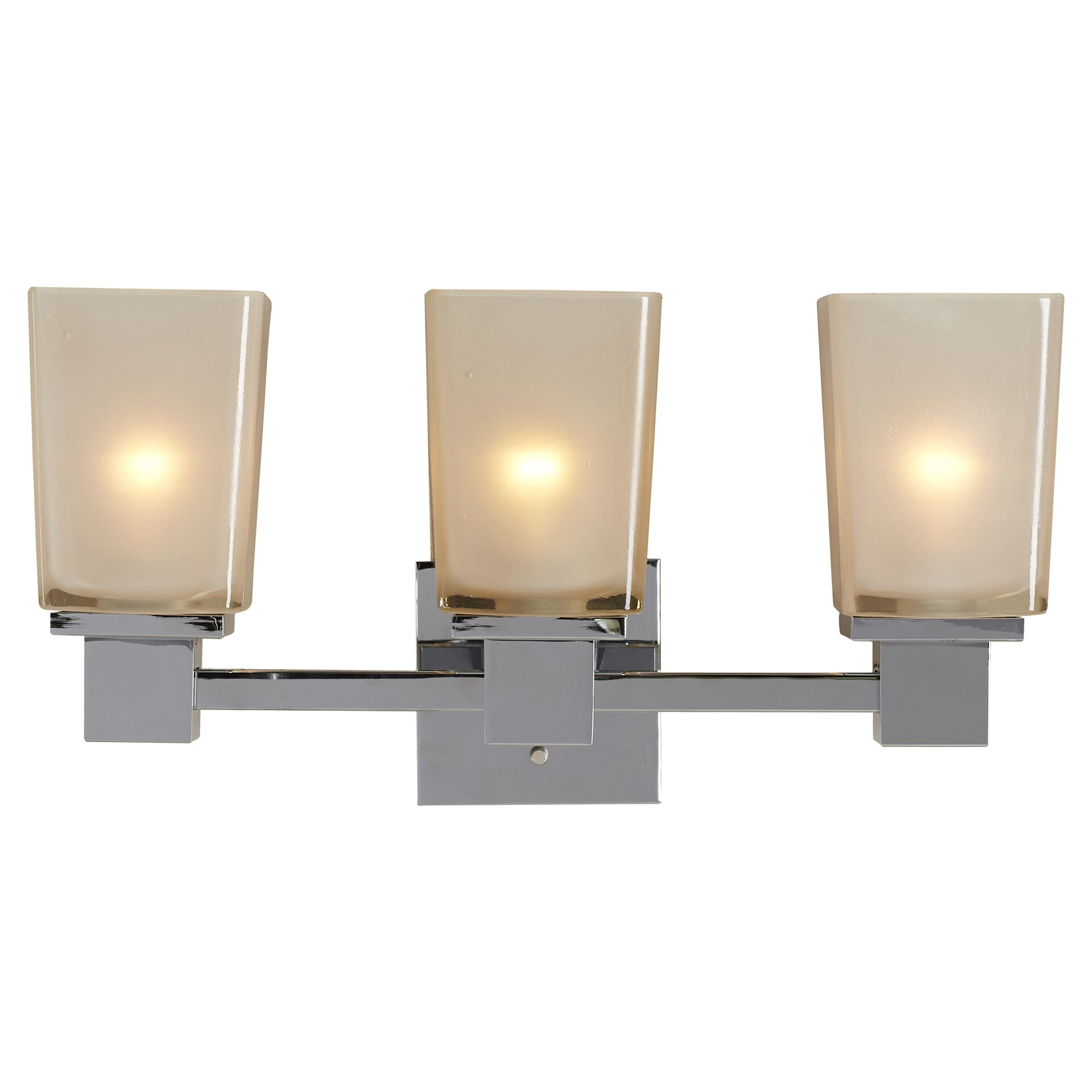 Wade Logan Paulton 3 Light Bath Vanity Light & Reviews