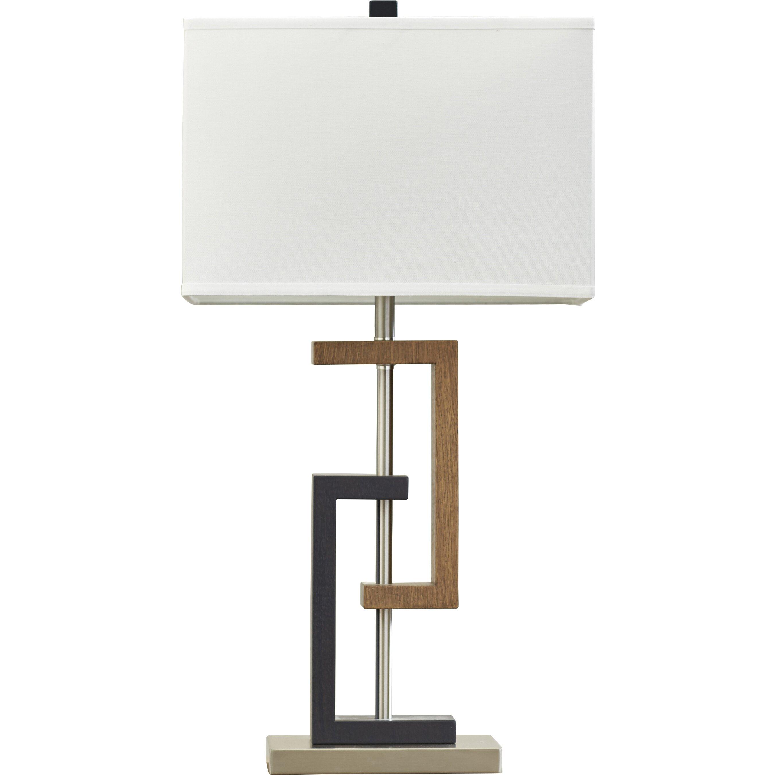 Wade logan table lamp reviews wayfair for Table cuisine 75 x 75