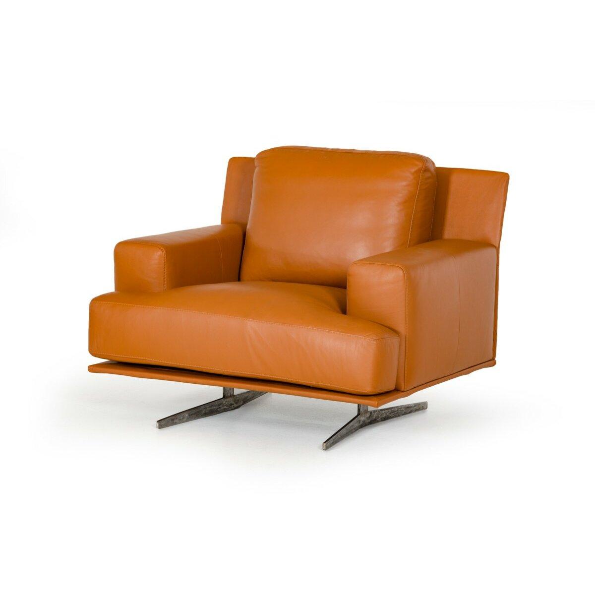 Wade Logan Martin 3 Piece Leather Sofa Set Wayfair