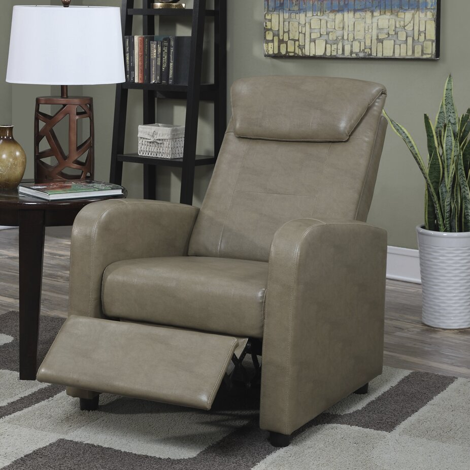 Wade Logan Koa Recliner Amp Reviews Wayfair