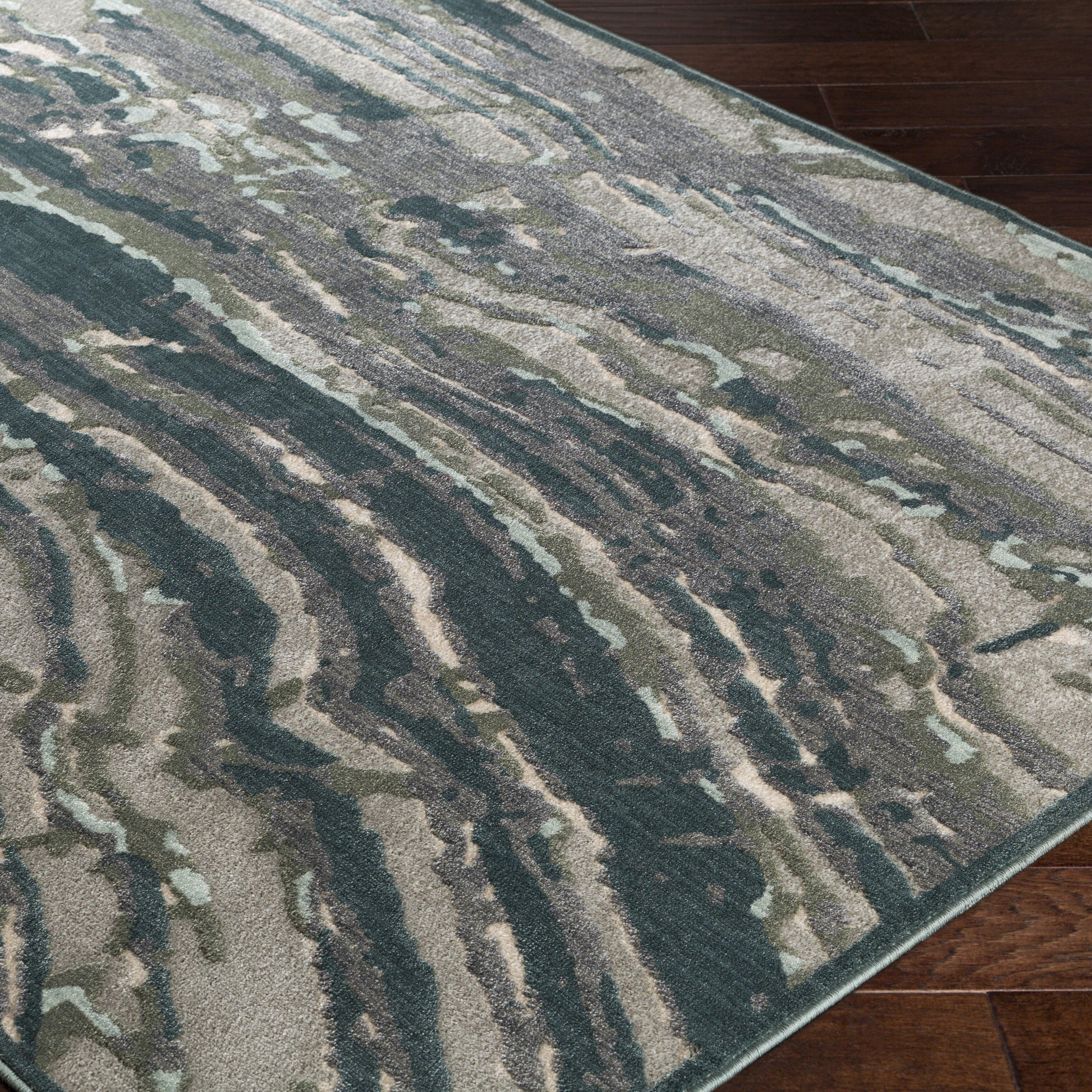 wade logan craybrough aqua grey area rug. Black Bedroom Furniture Sets. Home Design Ideas