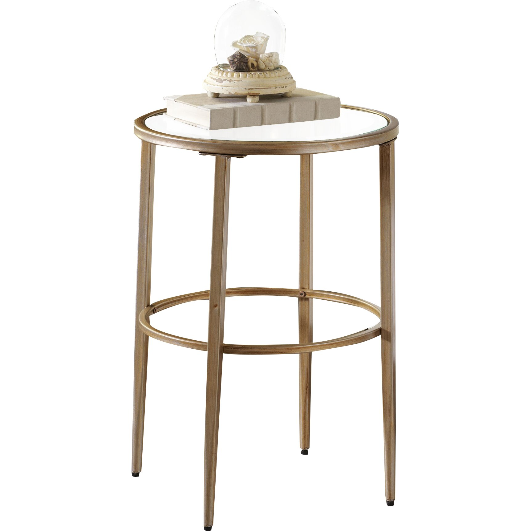 Logan Side Table ~ Wade logan hyperion round side table reviews wayfair