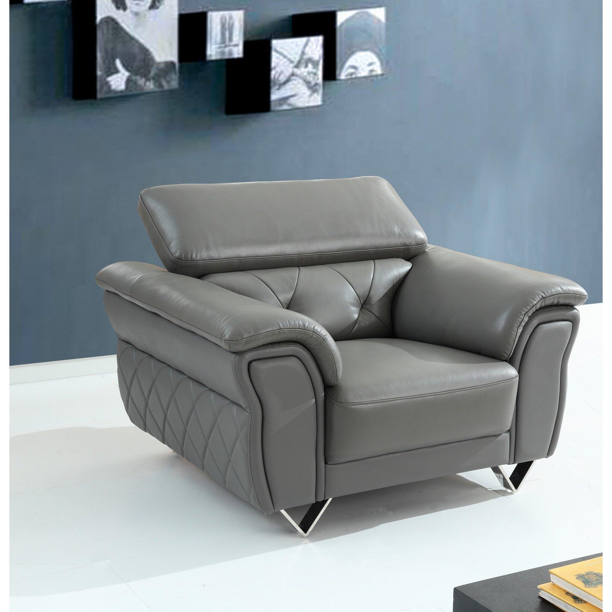 Wade Logan Rodolfo Leather Sofa Set