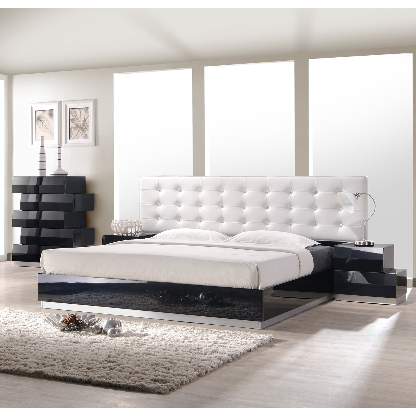Wade Logan Matt Platform Customizable Bedroom Set
