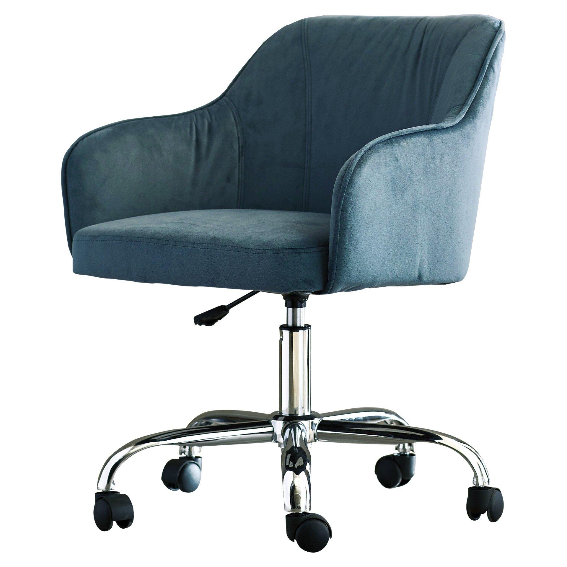 Corrigan Studio Althea Adjustable Mid Back Office Chair Reviews Wayfair
