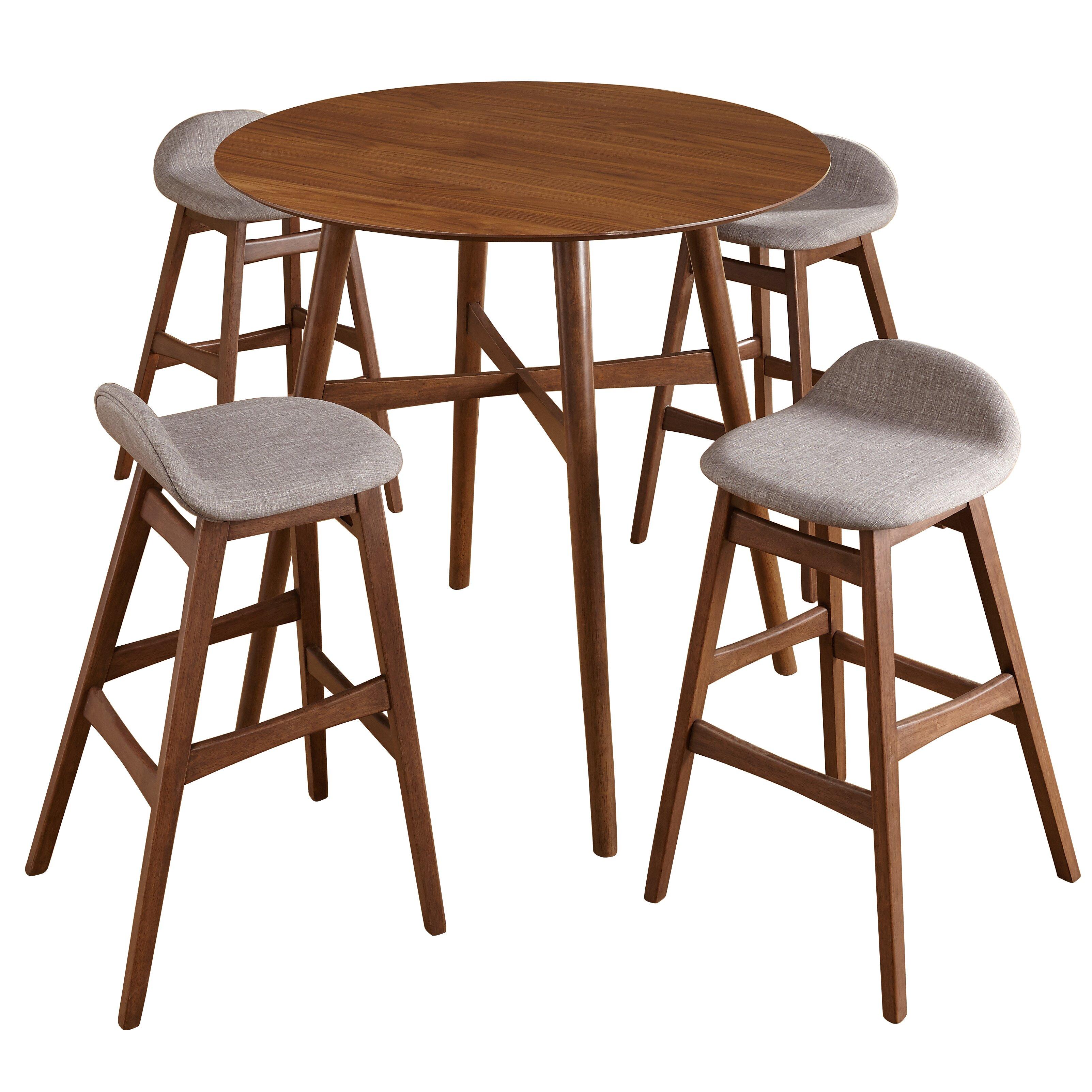 Langley Street Conquistador 5 Piece Pub Table Set