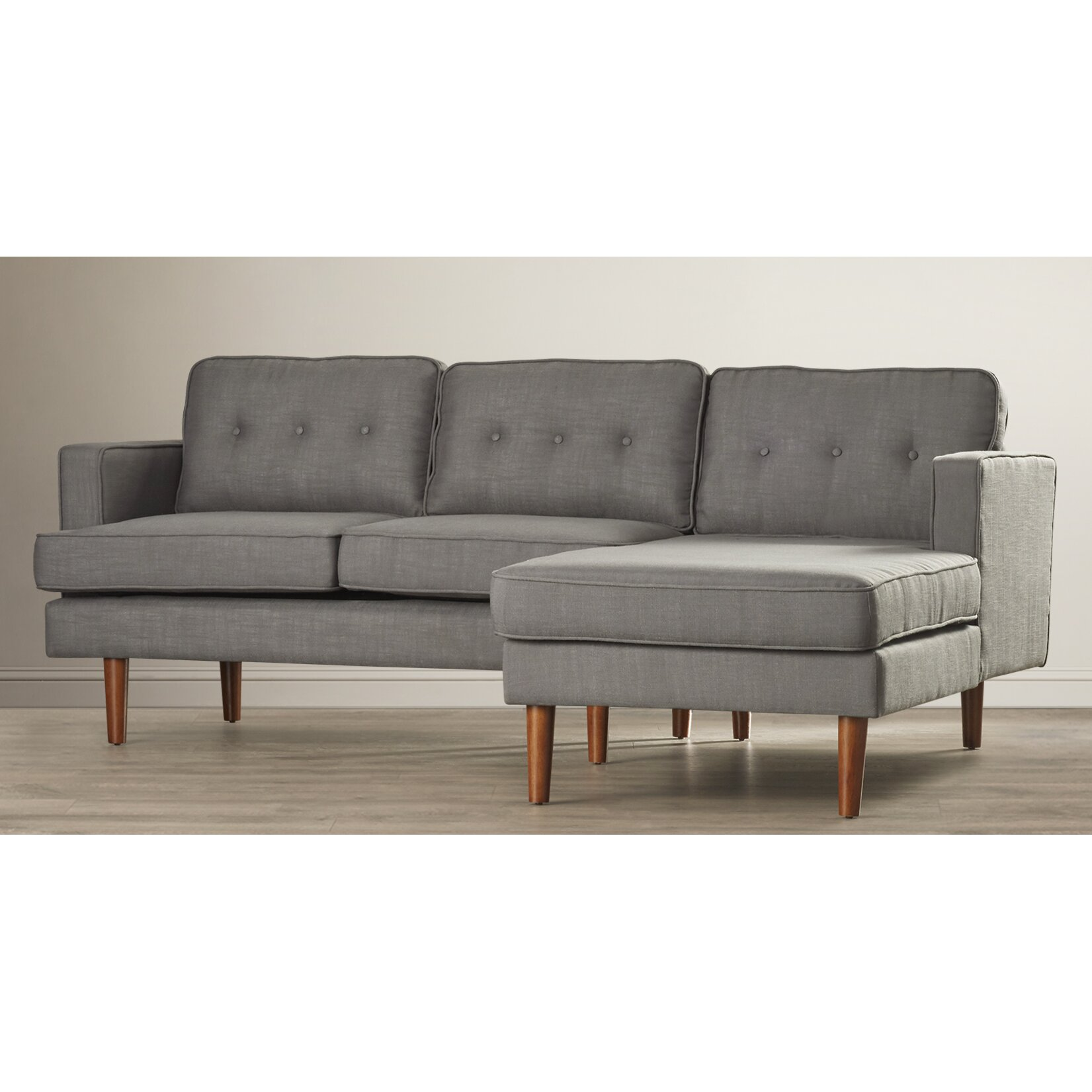 Langley street monterey right facing chaise sectional for Outdoor furniture langley
