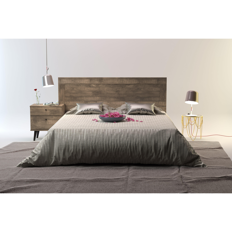 Langley street norloti queen wood headboard wayfair for Concept beds