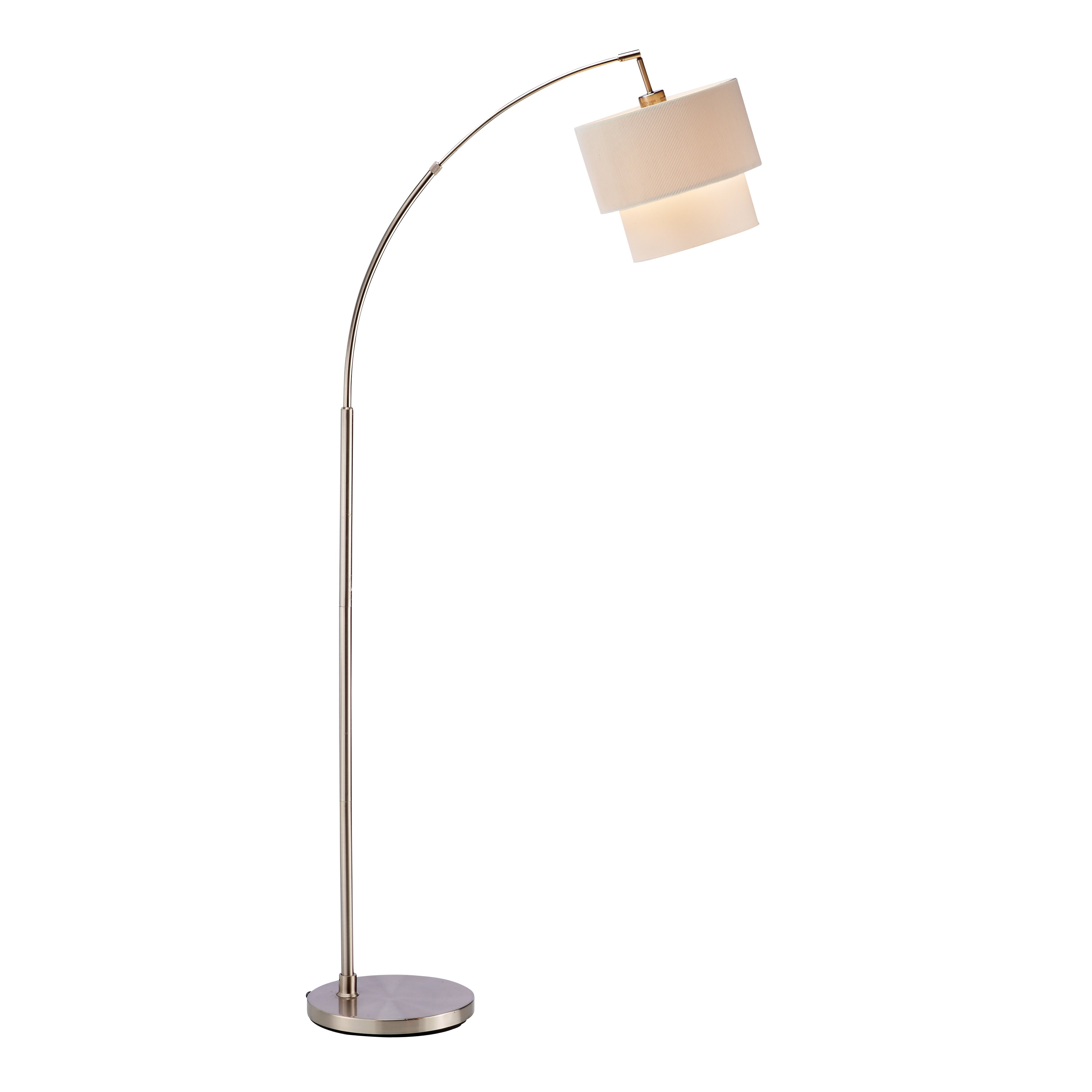 Langley street duneany 71 arched floor lamp reviews for Arch floor lamps for living room