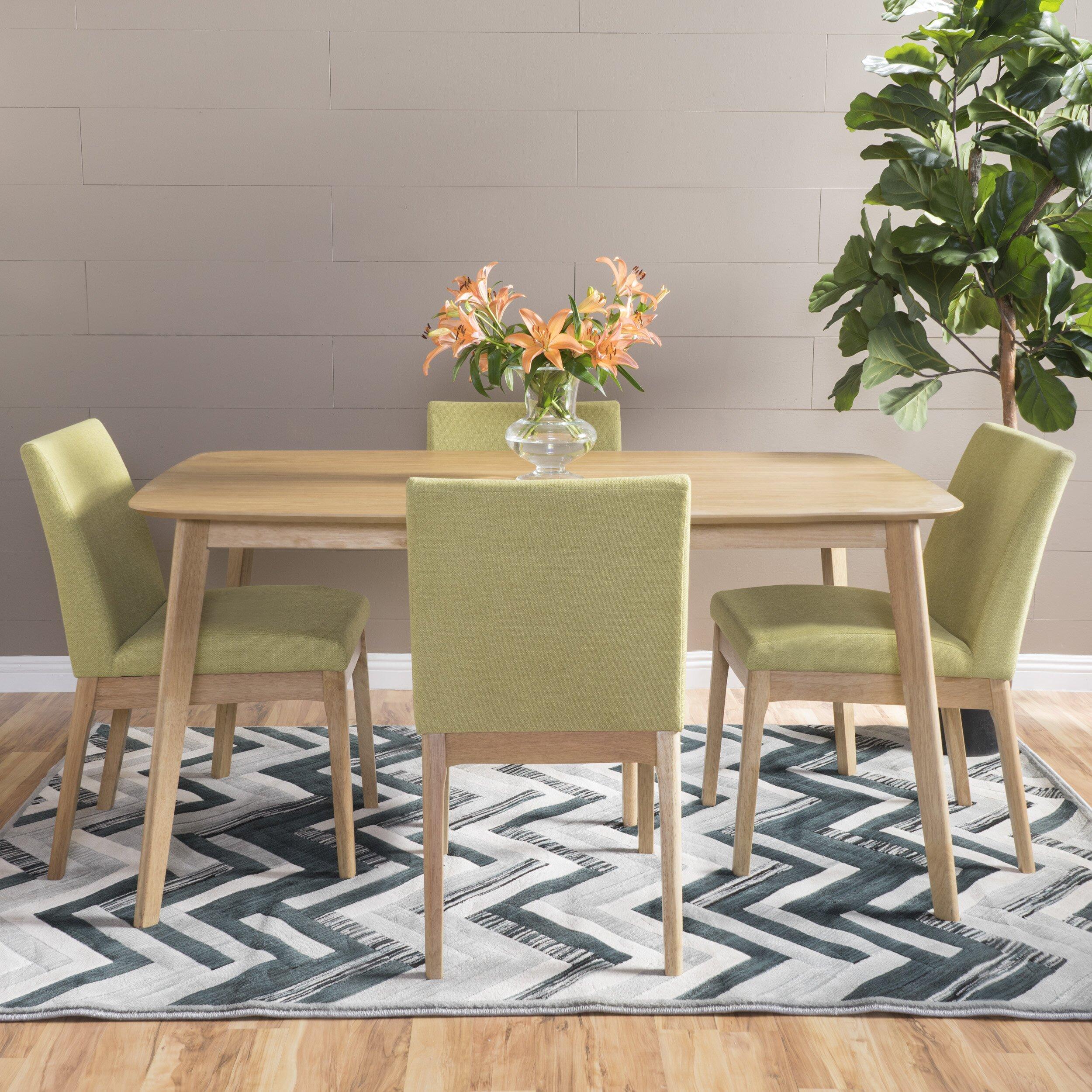 5 Piece Dining Room Sets Amazon Com: Langley Street Tunis 5 Piece Dining Set & Reviews