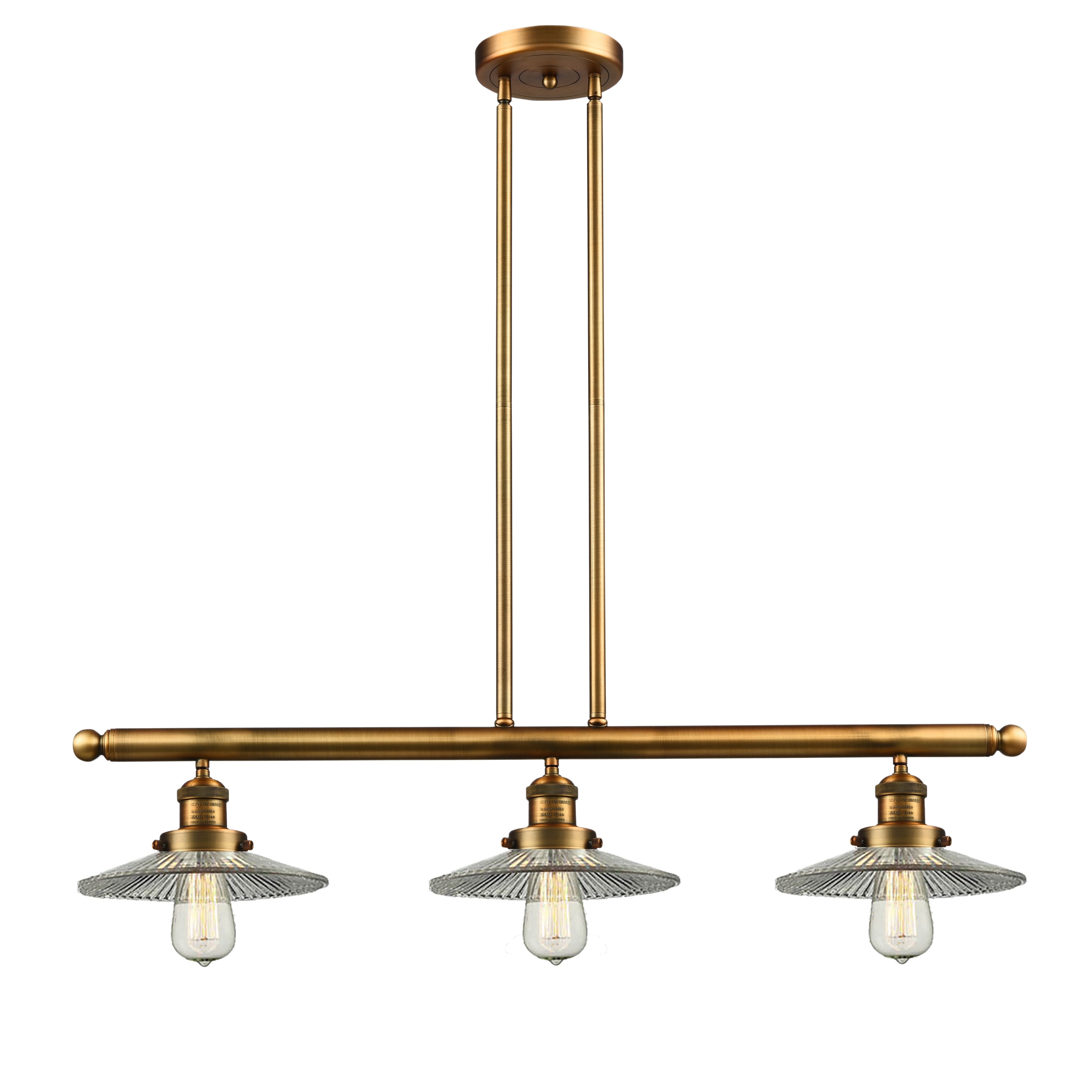 innovations lighting holophone glass 3 light kitchen