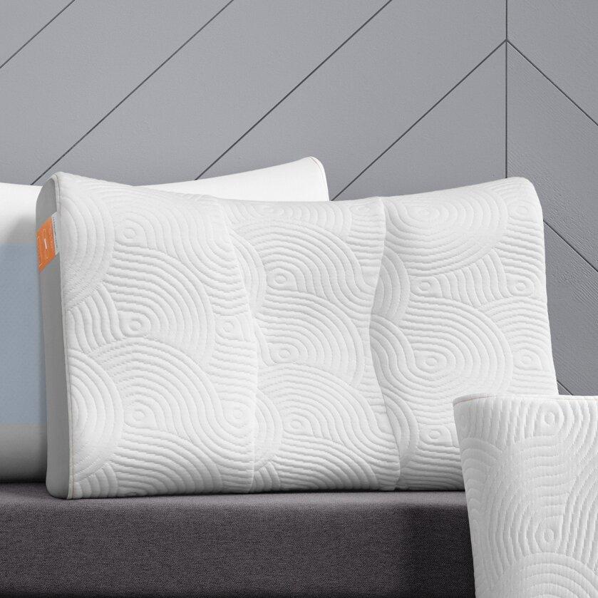 Tempur Pedic Contour Side To Back Pillow Amp Reviews Wayfair