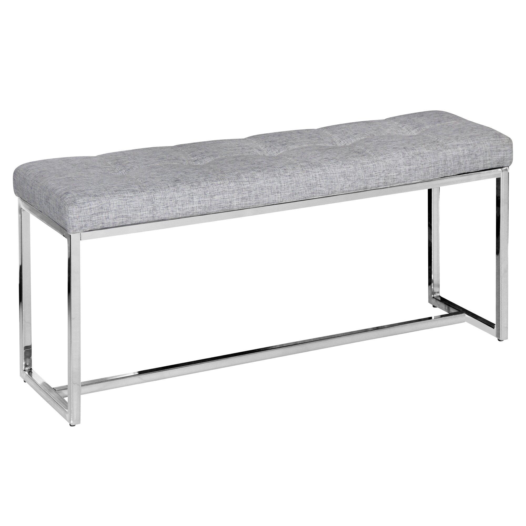 nspire Upholstered Bedroom Bench & Reviews
