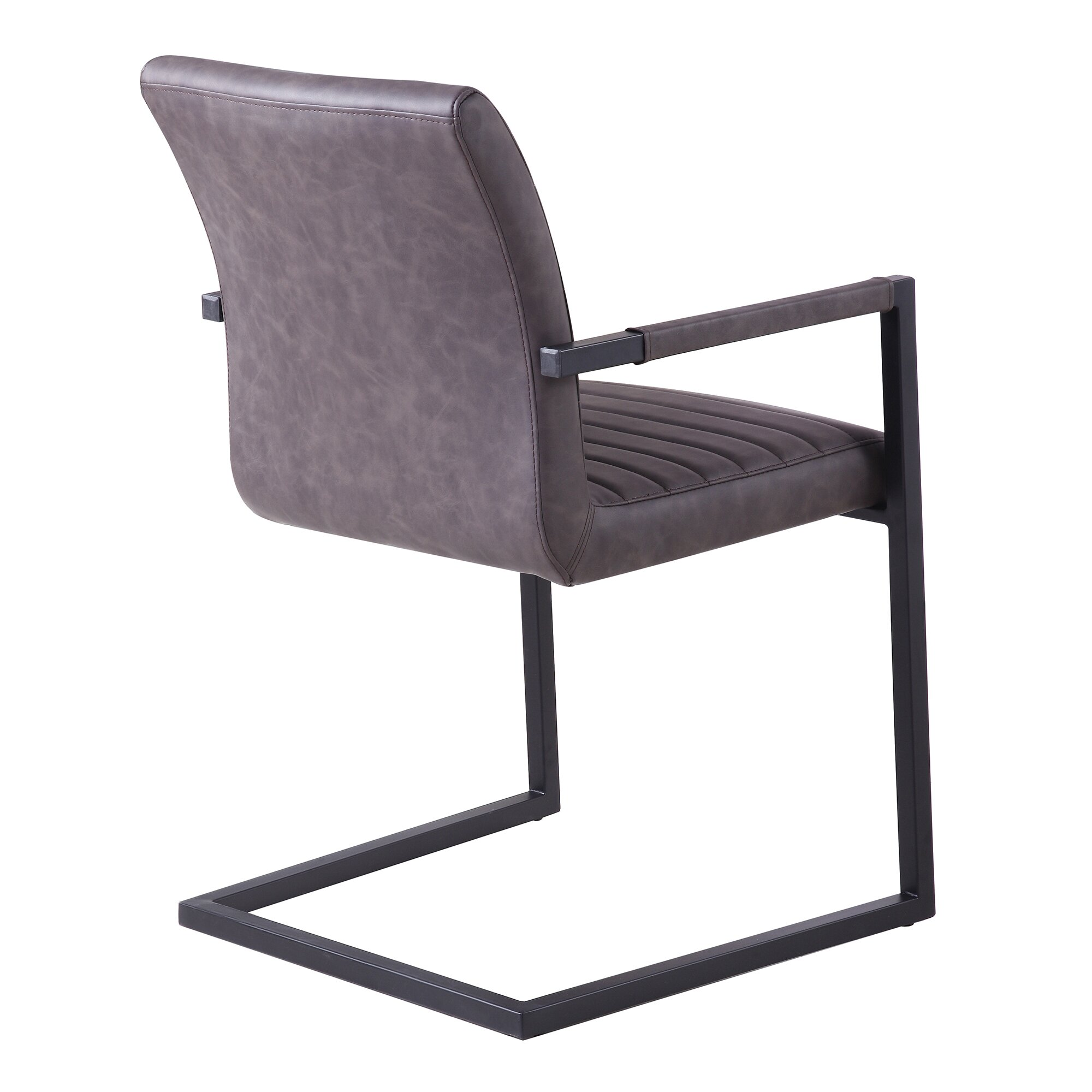 Faux Leather Accent Chair lane black faux leather accent chair