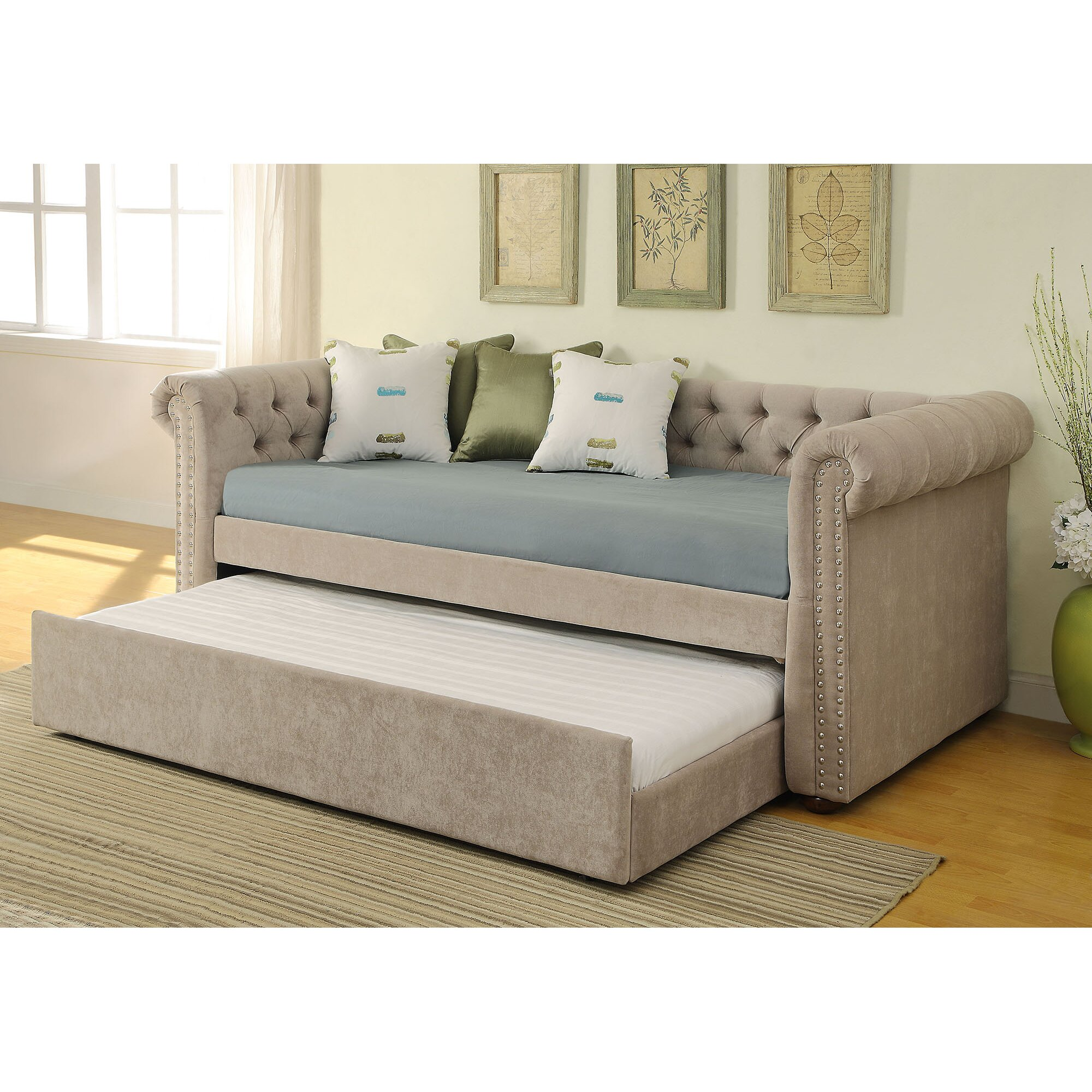 Nspire Daybed With Trundle Reviews Wayfair