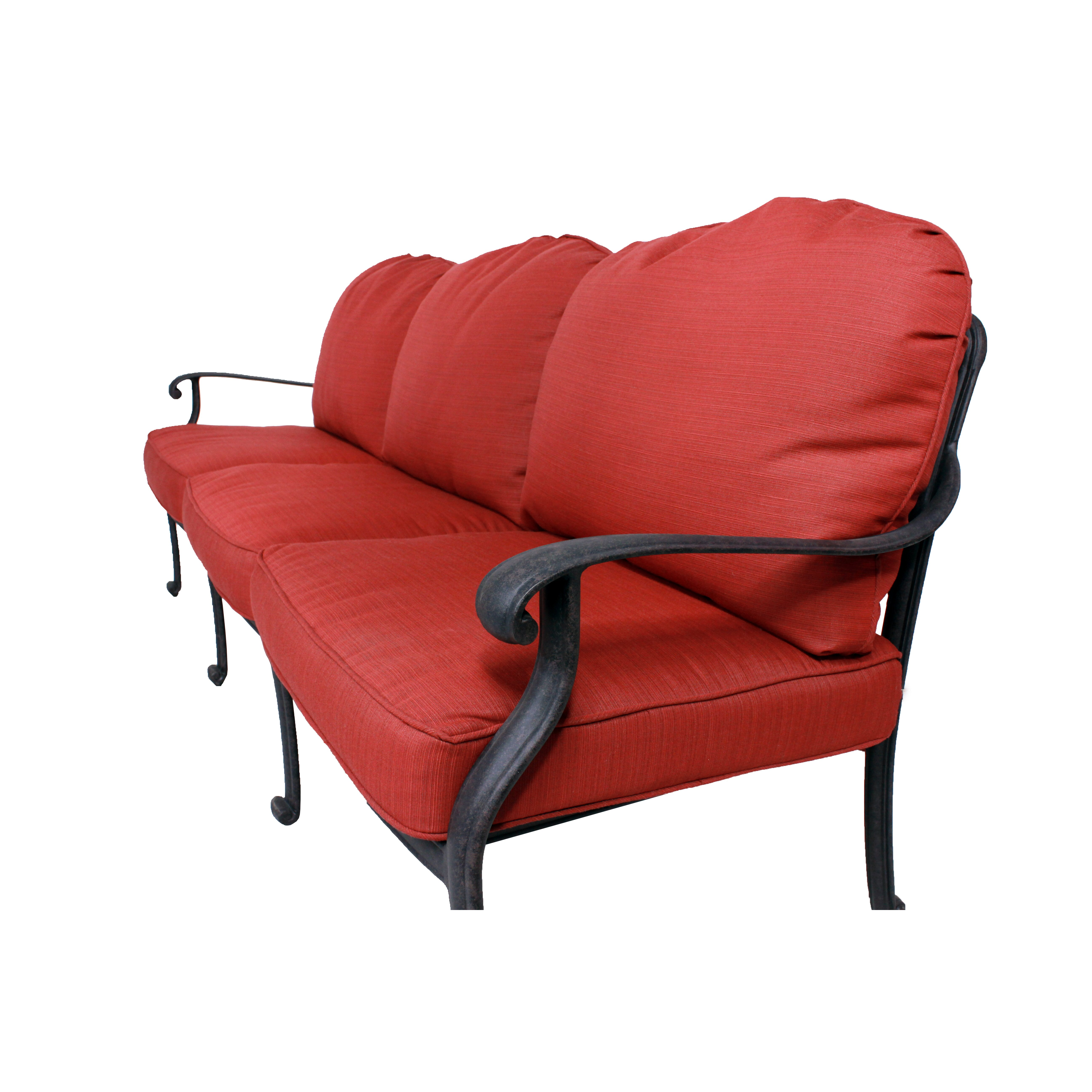 California Outdoor Designs Roma Deep Seating Sofa With