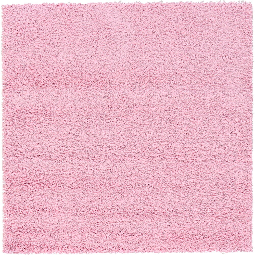 Unique Loom Solo Light Pink Area Rug Reviews Wayfair