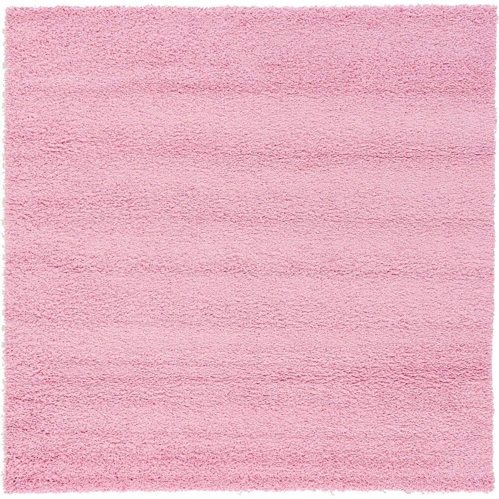Unique Loom Solo Light Pink Area Rug Amp Reviews Wayfair