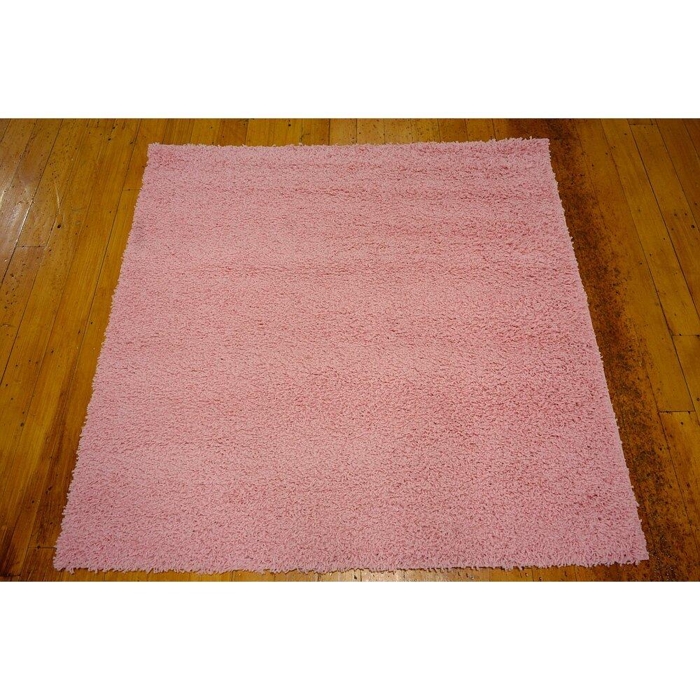 Unique Bathroom Rugs: Unique Loom Solo Light Pink Area Rug & Reviews