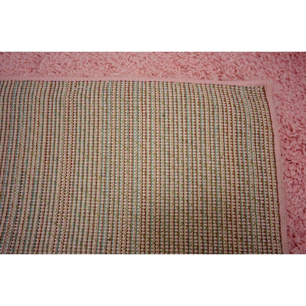 Unique Loom Solo Light Pink Area Rug & Reviews