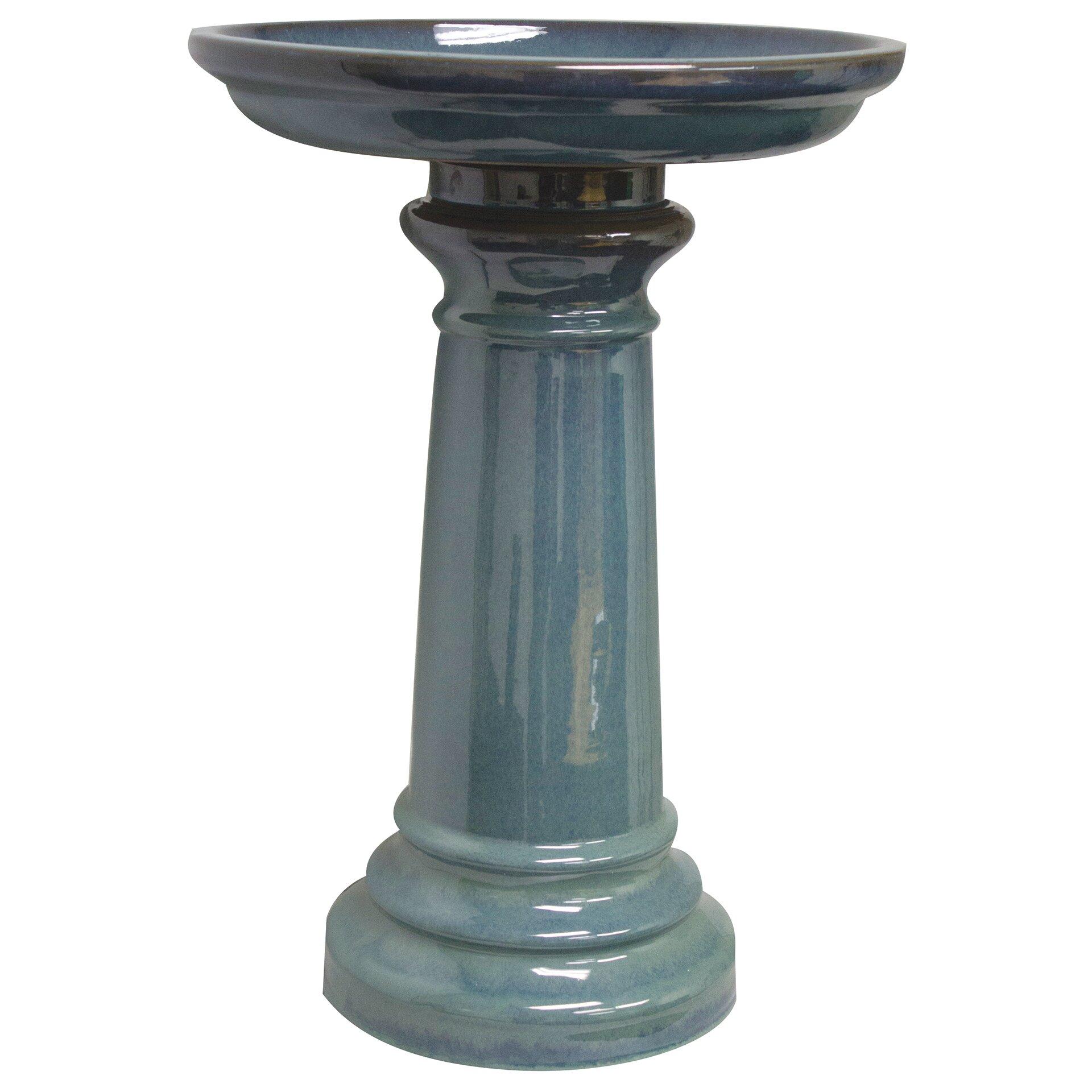 Gardman Sun Pottery Classic Ceramic Bird Bath Amp Reviews