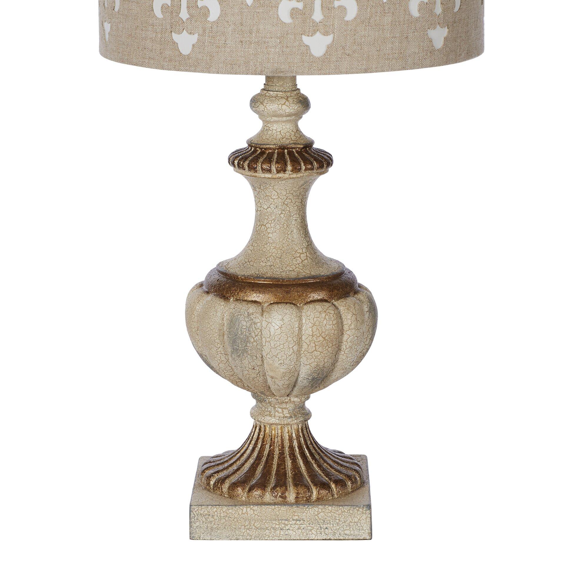 Lark manor marseilles 31 table lamp reviews wayfair for Wayfair industrial lamp