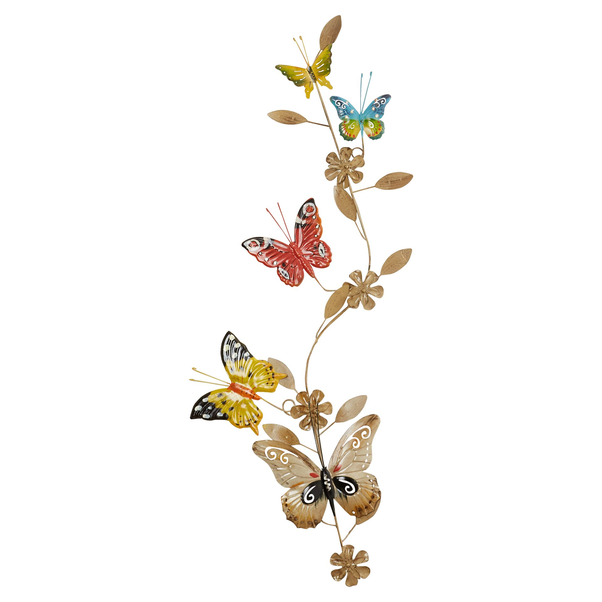 Lark Manor Butterfly Wall D Cor Reviews
