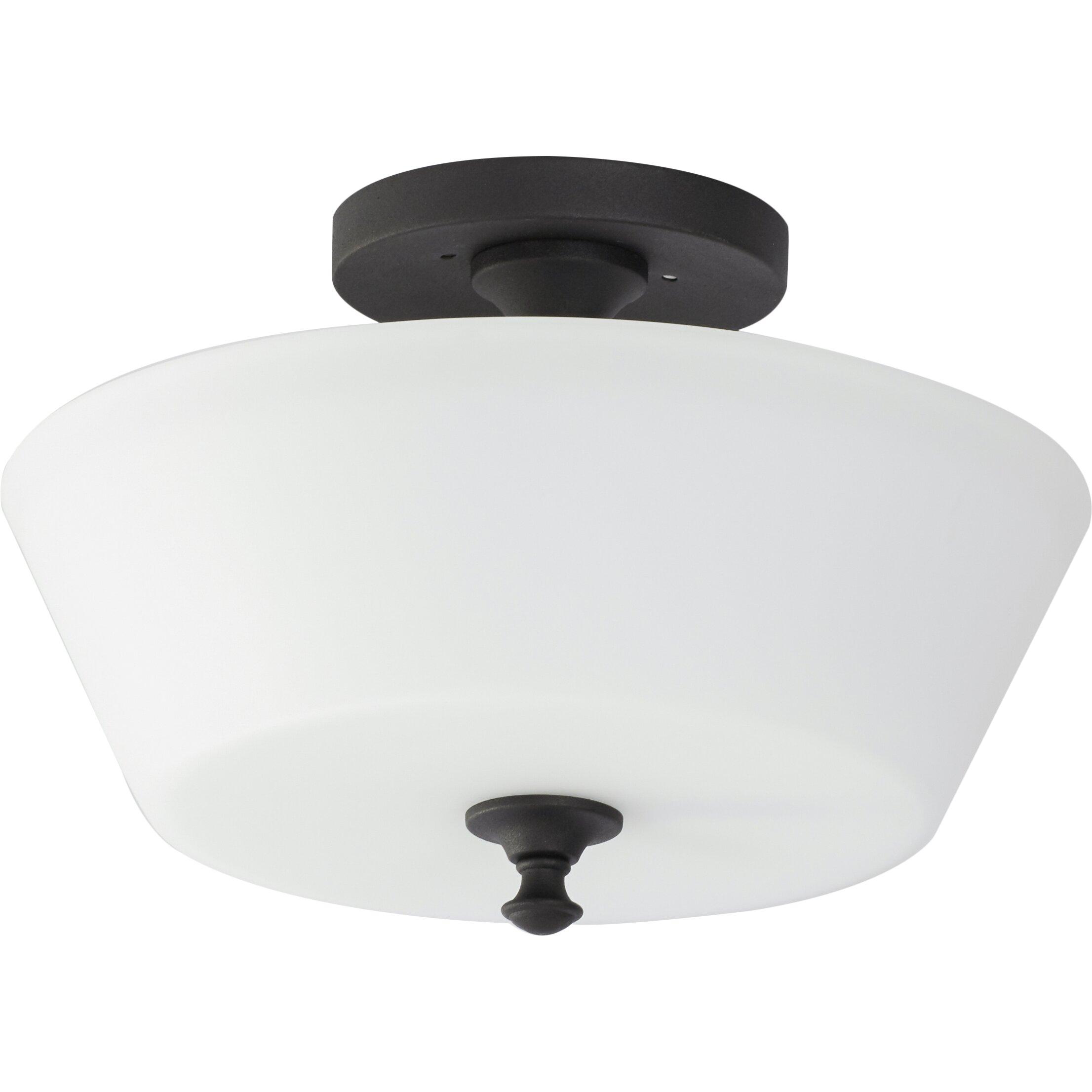 Lark Manor Maiwenn 2 Light Semi Flush Mount Amp Reviews