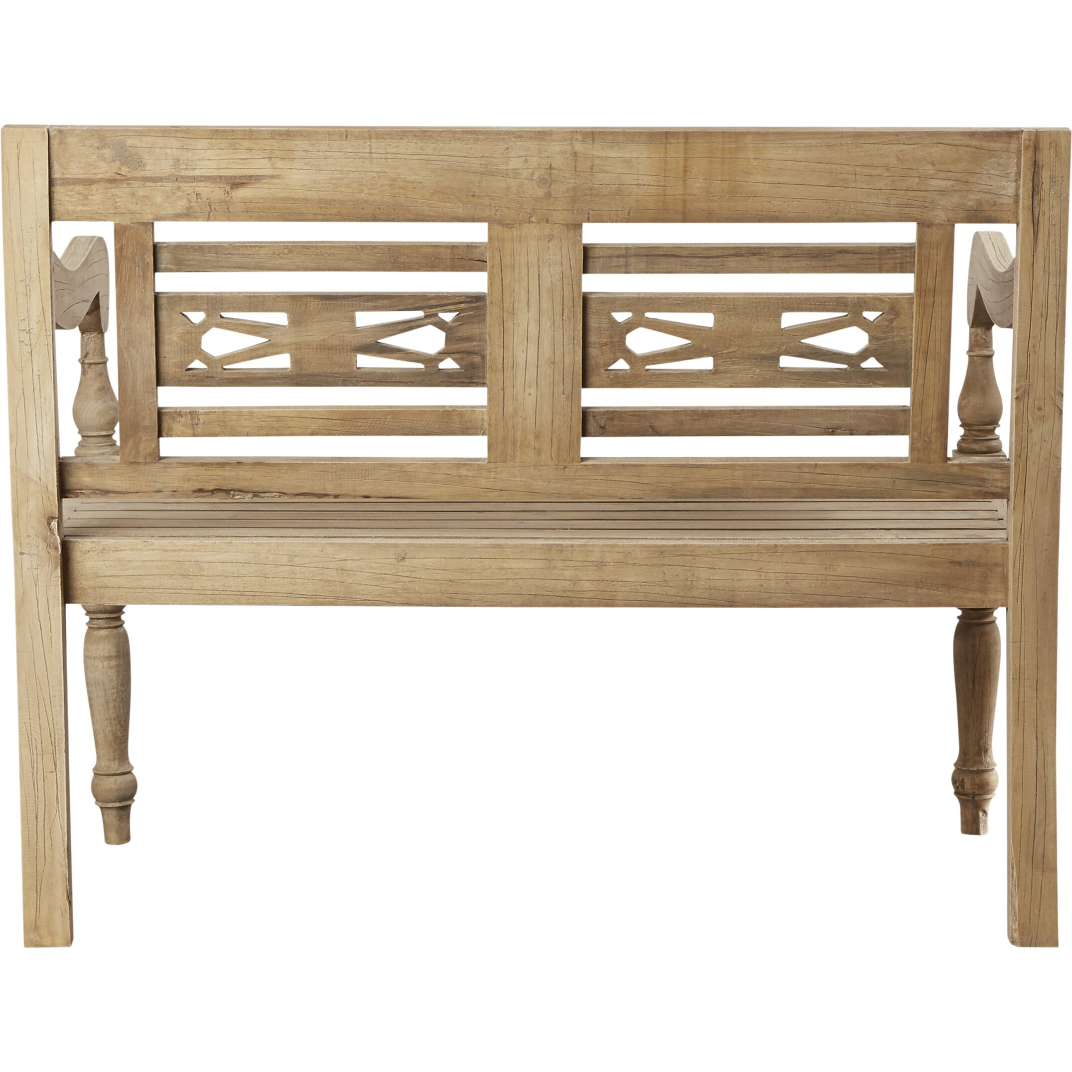 Lark Manor Burnet Wood Entryway Bench Reviews Wayfair