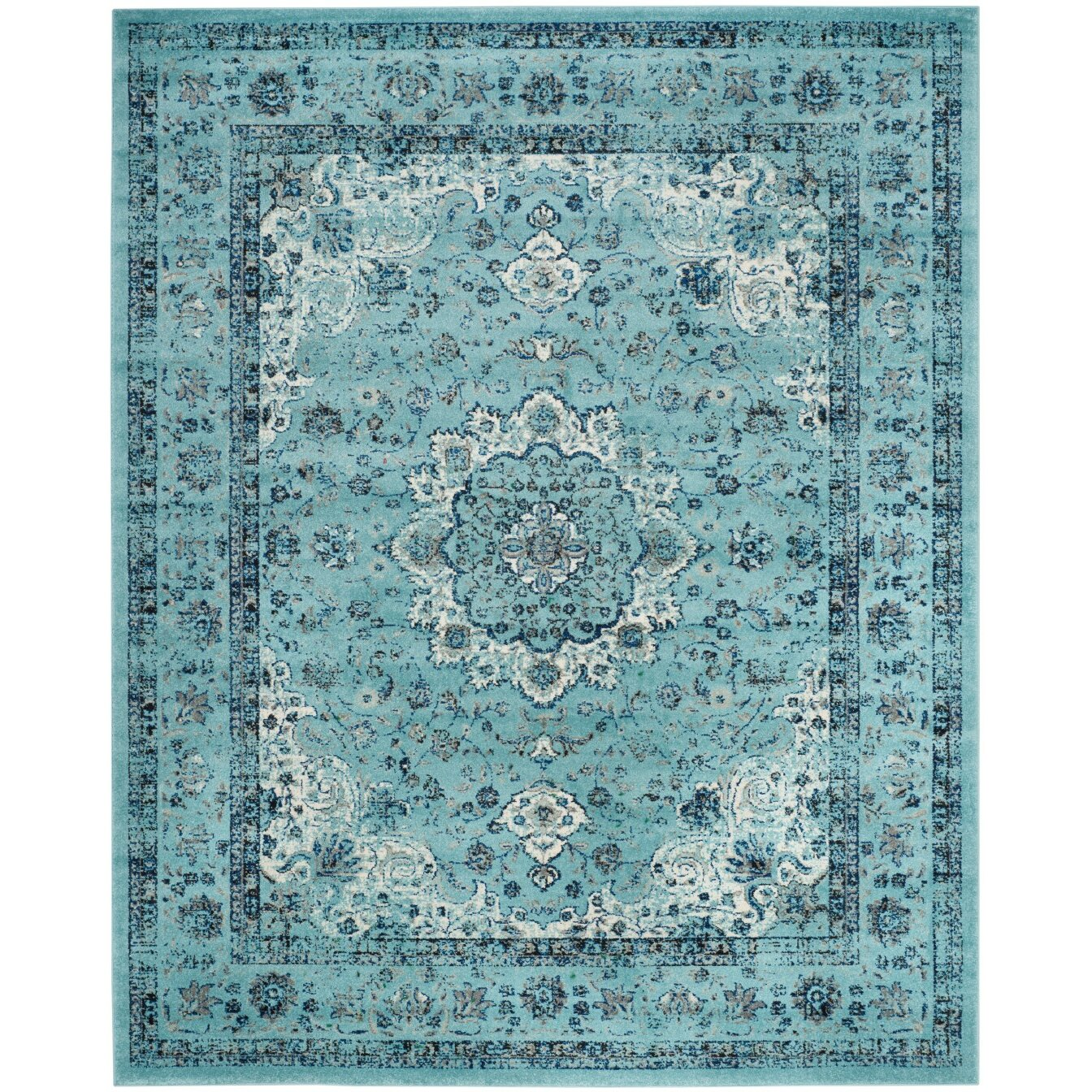 Blue Rugs For Dining Room