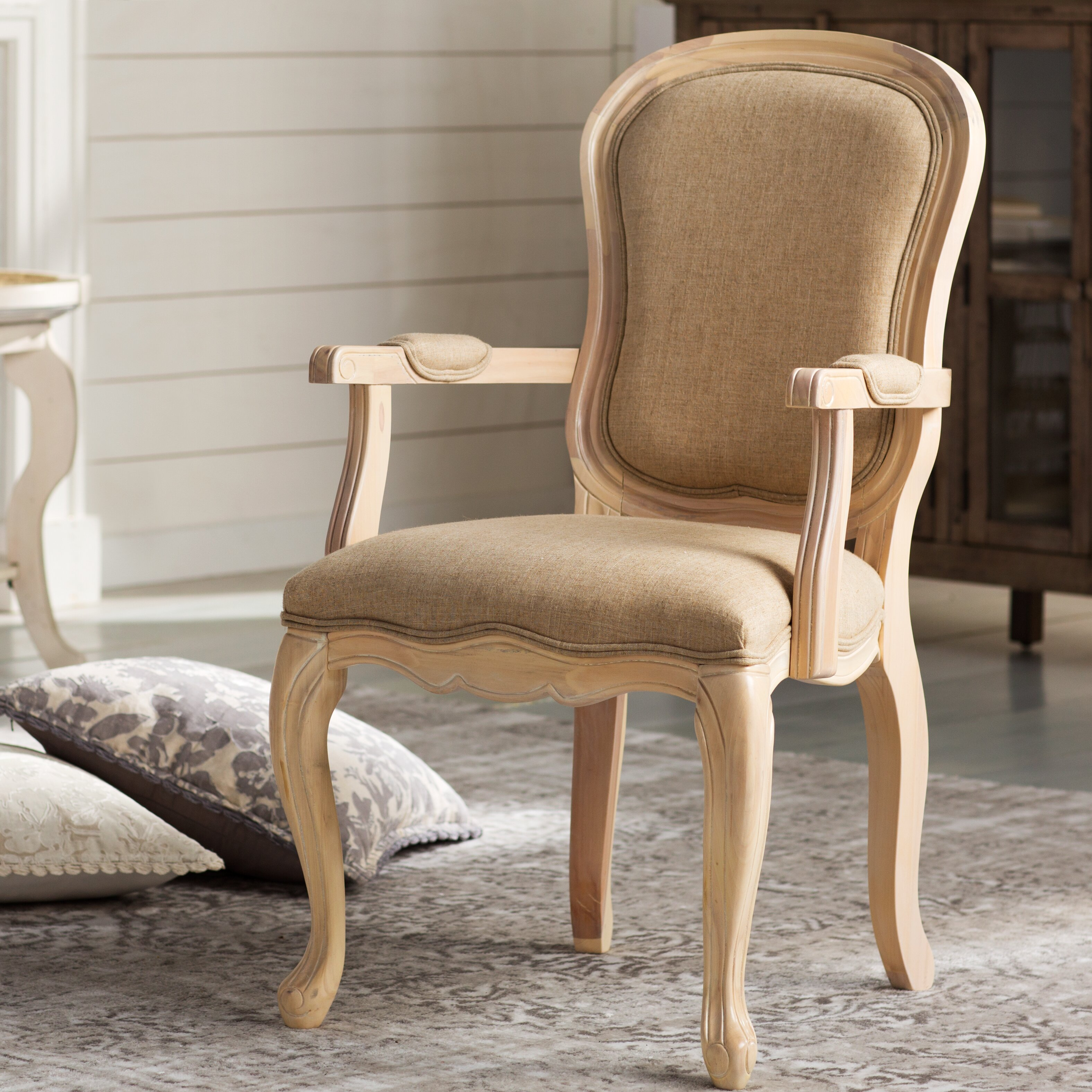 Lark manor saint quentin accent arm chair amp reviews wayfair