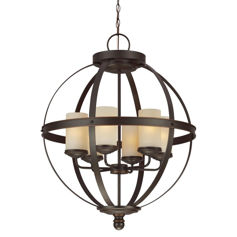 lark manor haute marne 6 light candle chandelier reviews wayfair. Black Bedroom Furniture Sets. Home Design Ideas