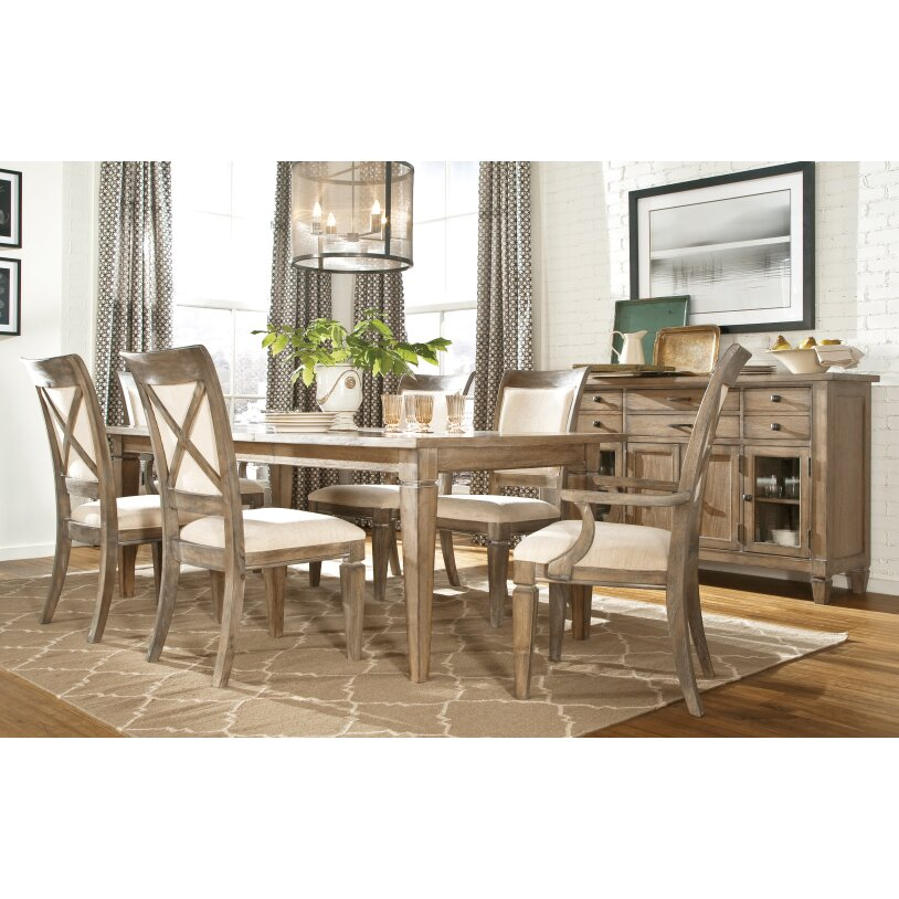 Lark manor armoise dining table reviews wayfair for Legacy classic dining room furniture