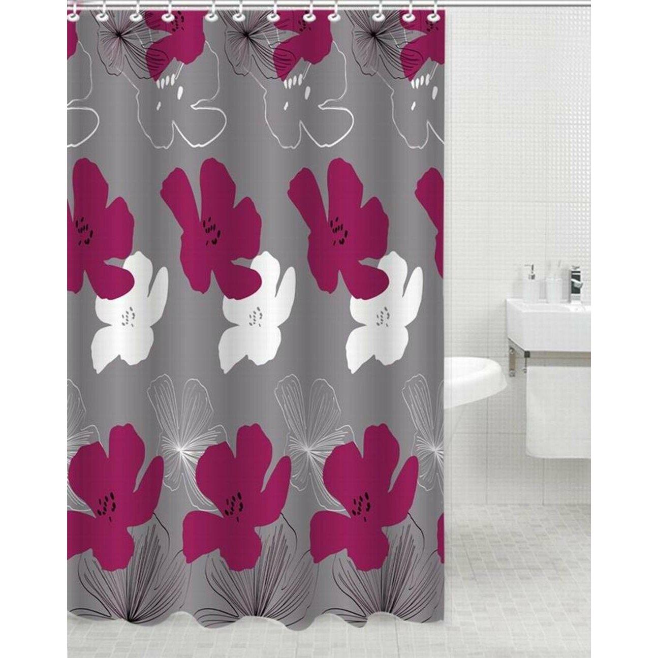 Daniels Bath Eva Polyester Shower Curtain Amp Reviews