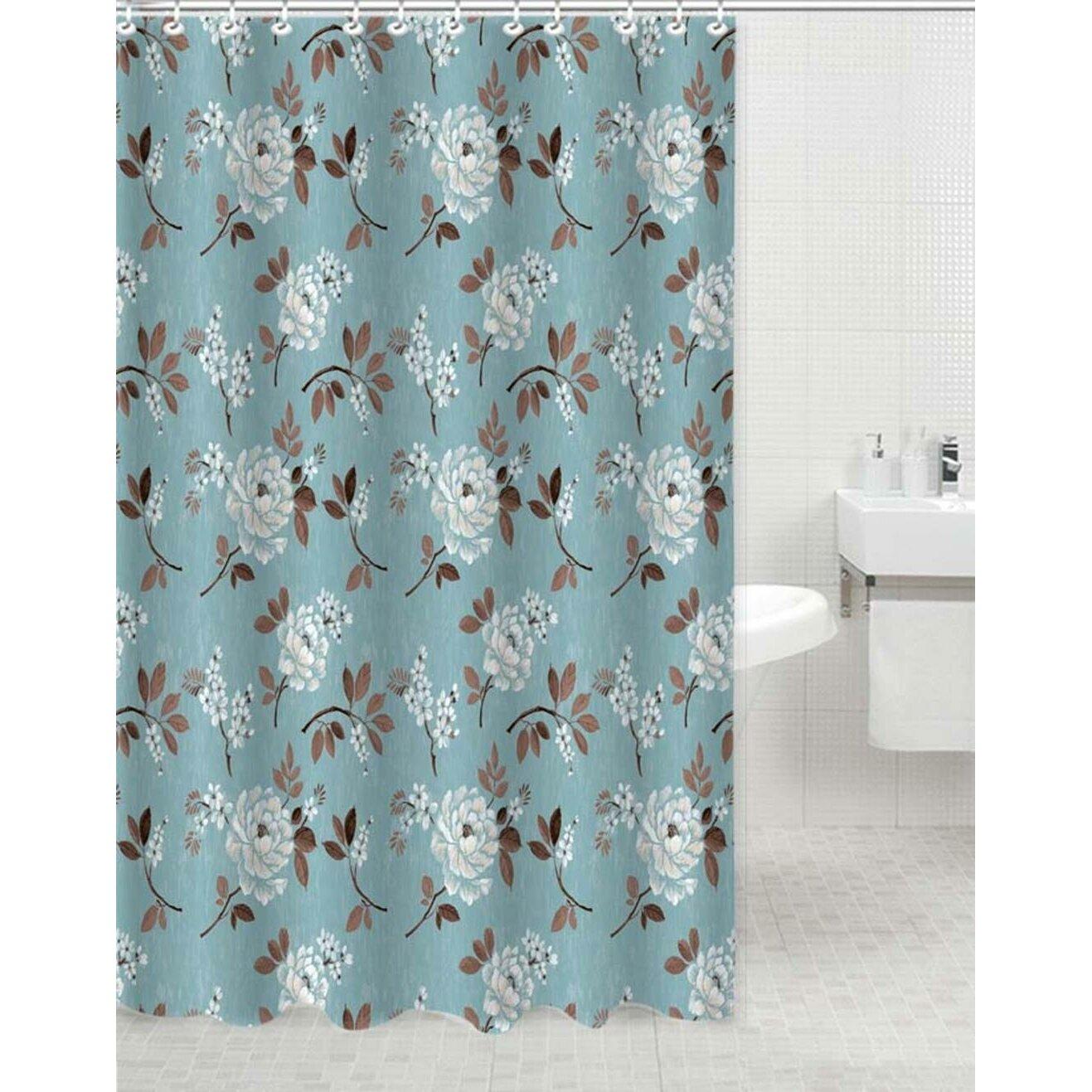 Daniels Bath Floral Polyester Shower Curtain Reviews