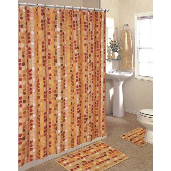 Daniels Bath 15 Piece Shower Curtain Set Amp Reviews