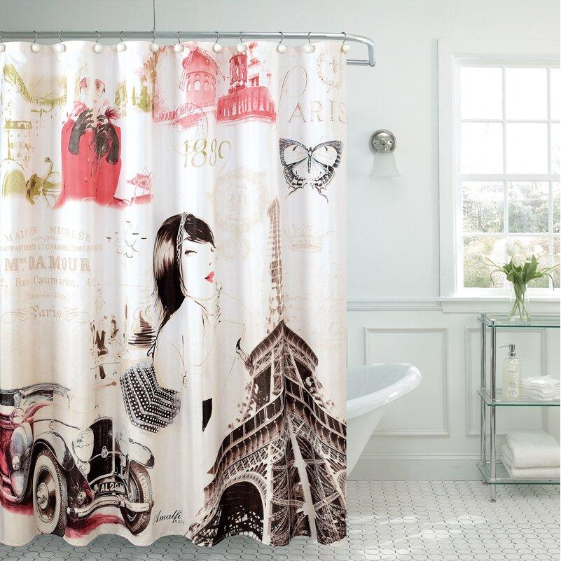 Daniels Bath Fancy Madelynn Shower Curtain & Reviews