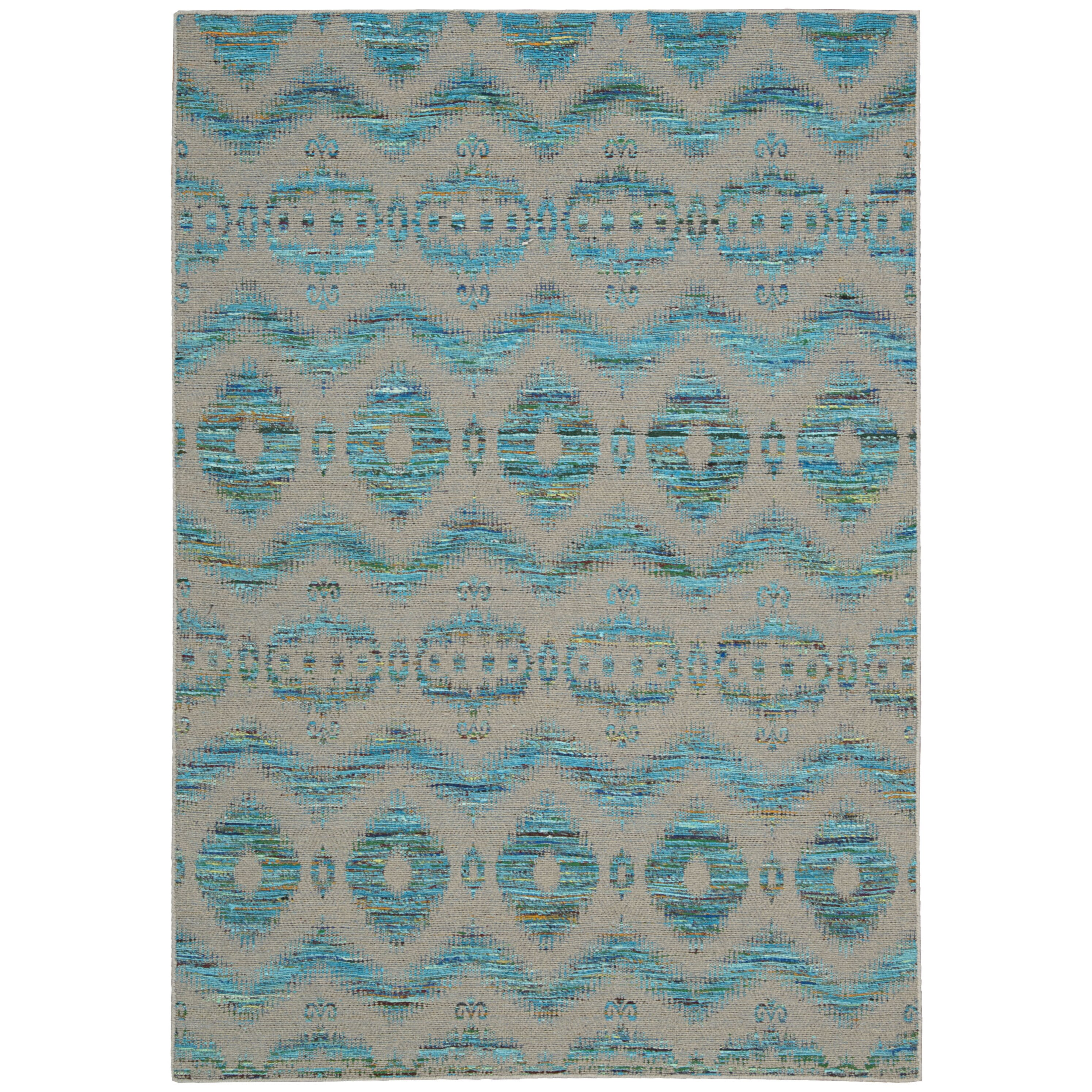 Florida Gray Turquoise Area Rug: Nourison Spectrum Turquoise Gray Rug & Reviews