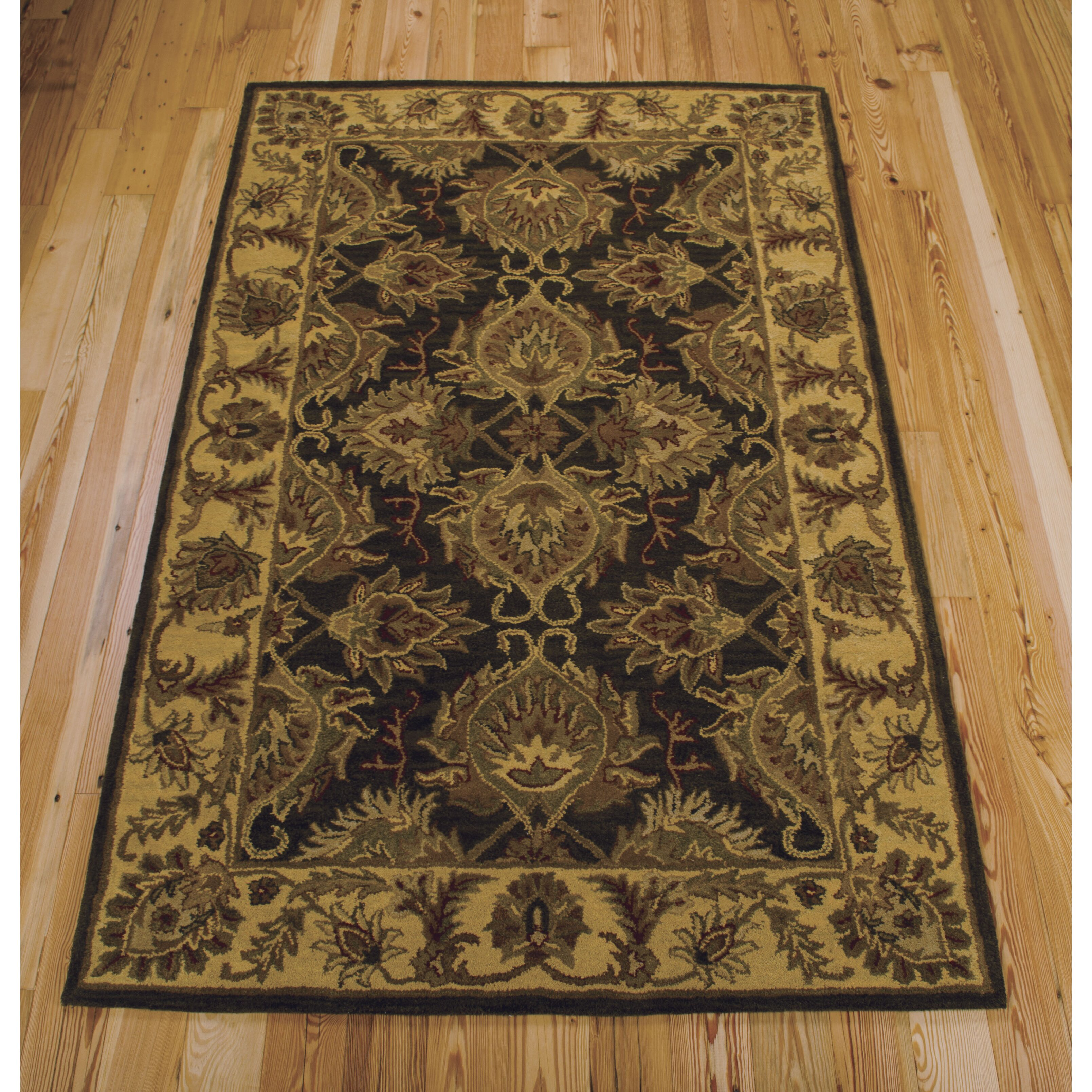 Nourison India House Green Area Rug
