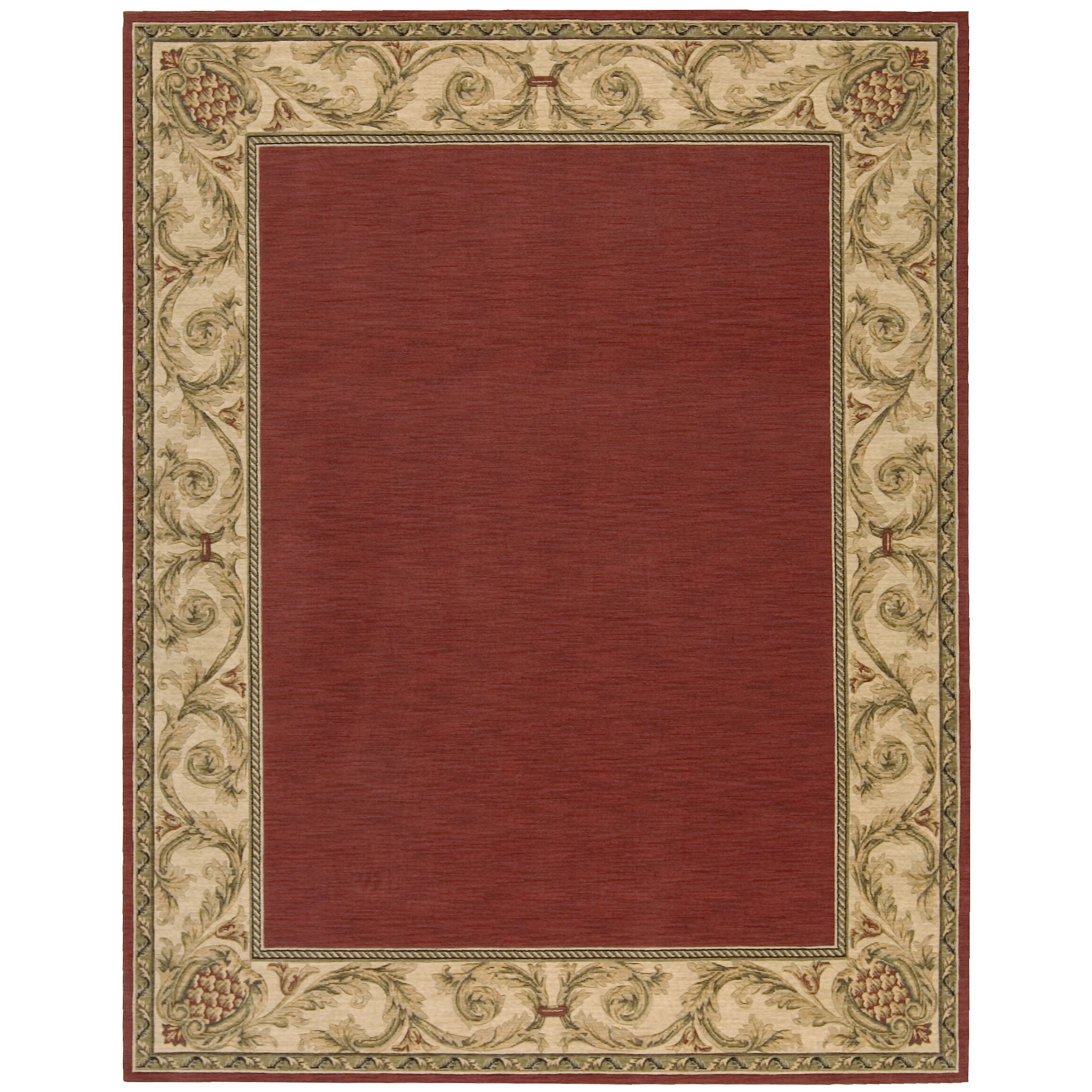 Nourison Vallencierre Brick Area Rug & Reviews
