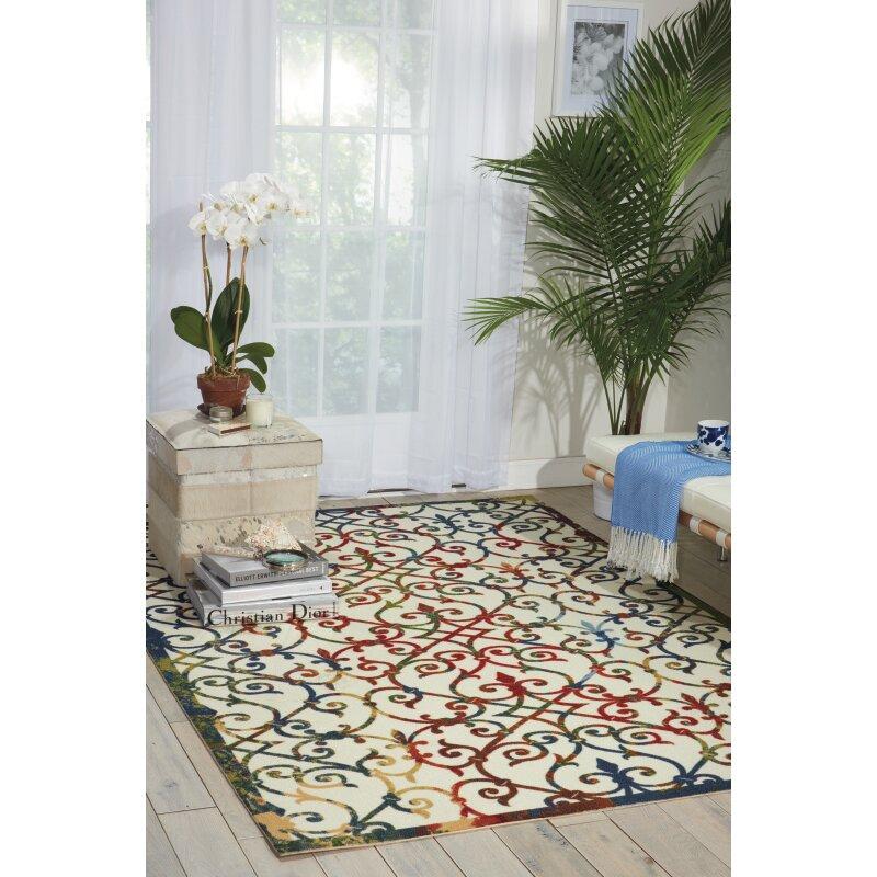 Nourison Home And Garden Area Rug Reviews Wayfair