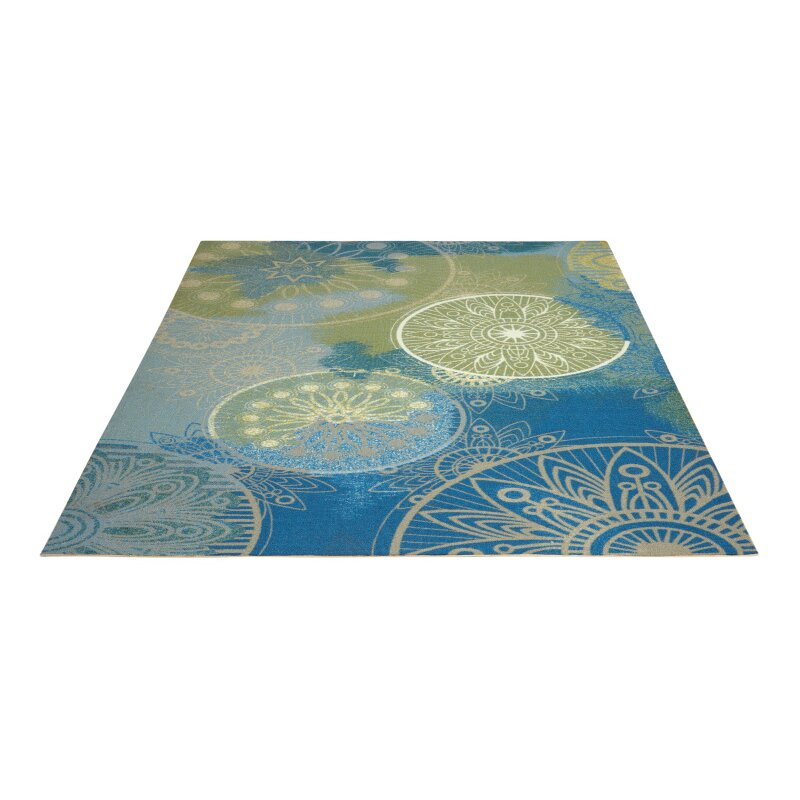 Nourison Home And Garden Blue Area Rug Reviews Wayfair